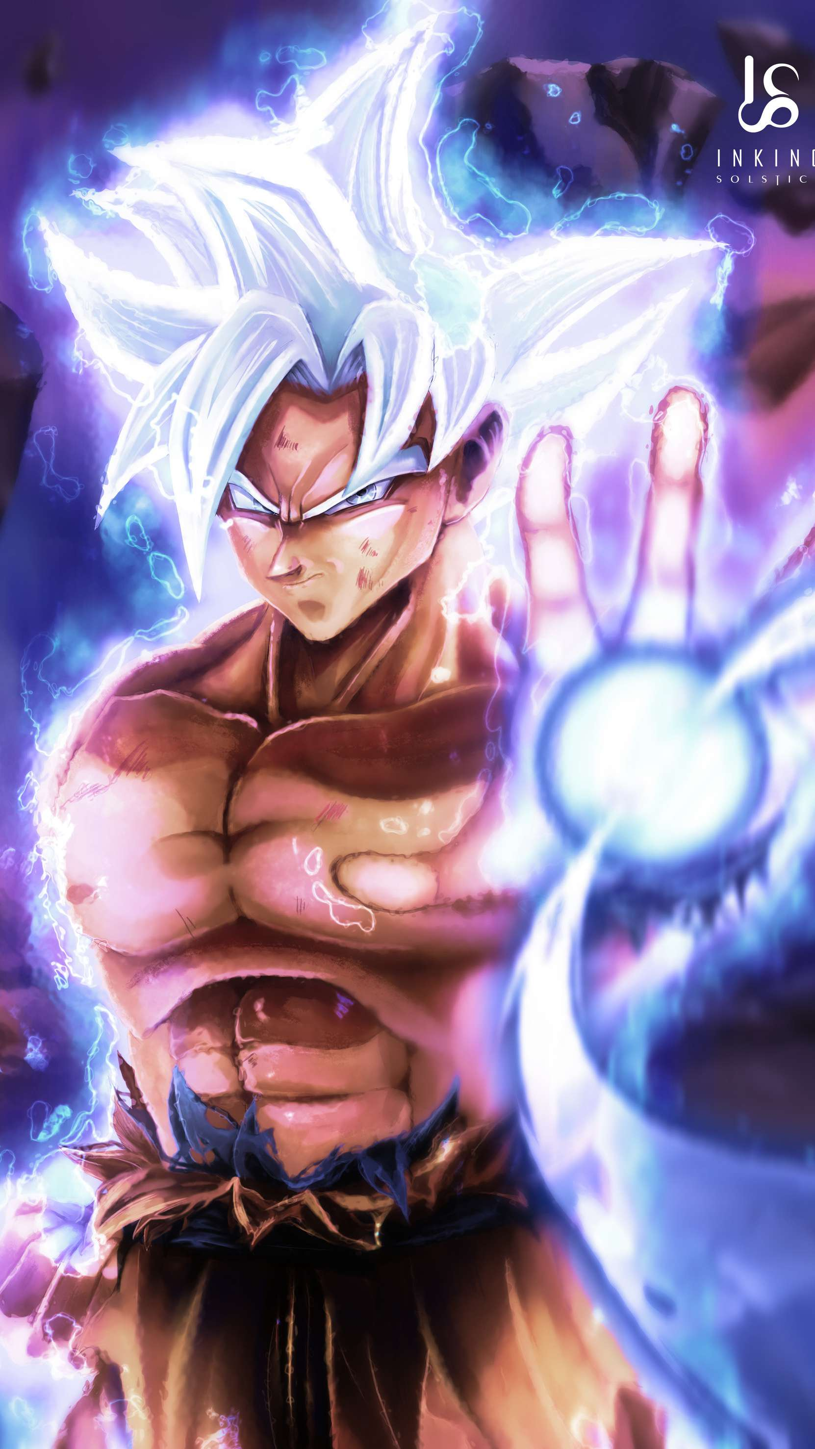 Mastered Ultra Instinct Goku Android Wallpapers Wallpaper Cave