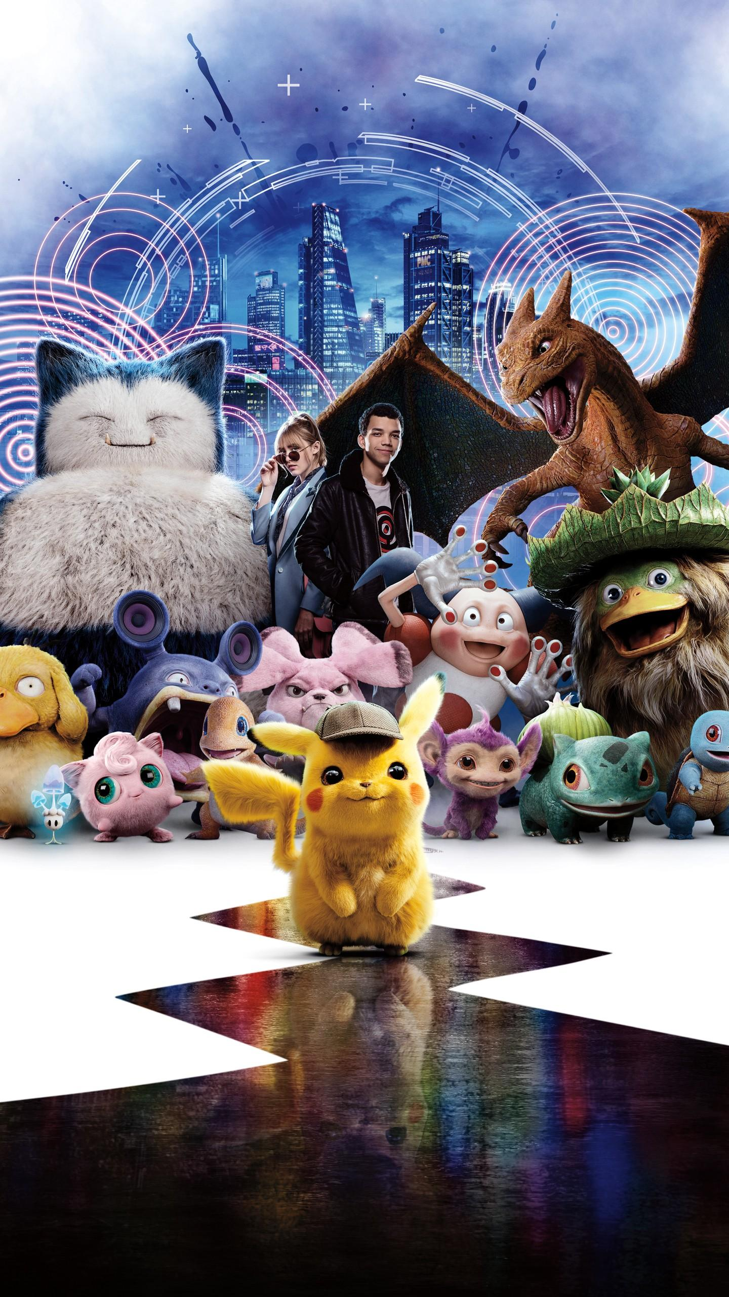 Detective Pikachu Movie Android Wallpapers Wallpaper Cave