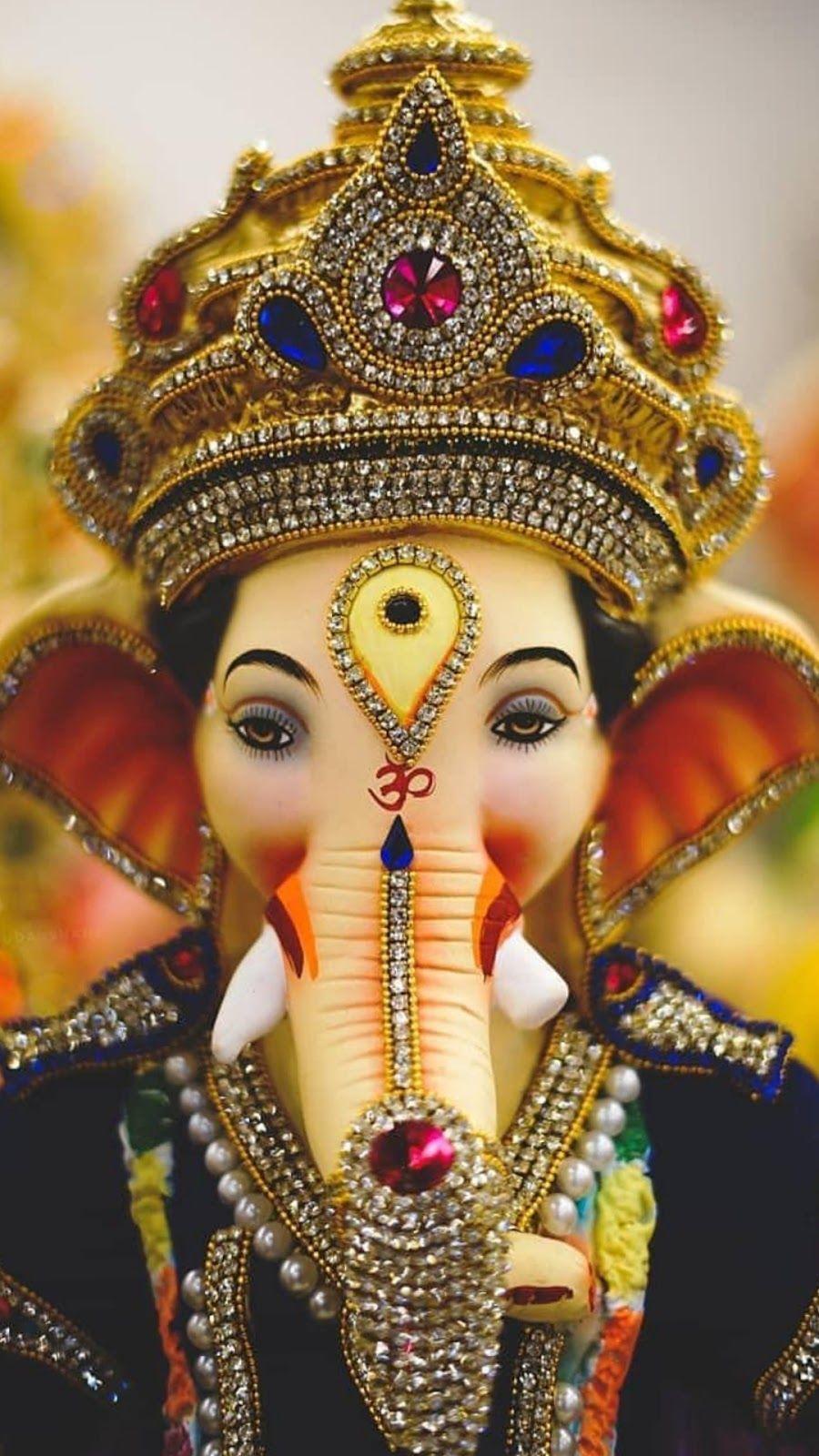 Ganesh God HD Mobile Wallpapers - Wallpaper Cave