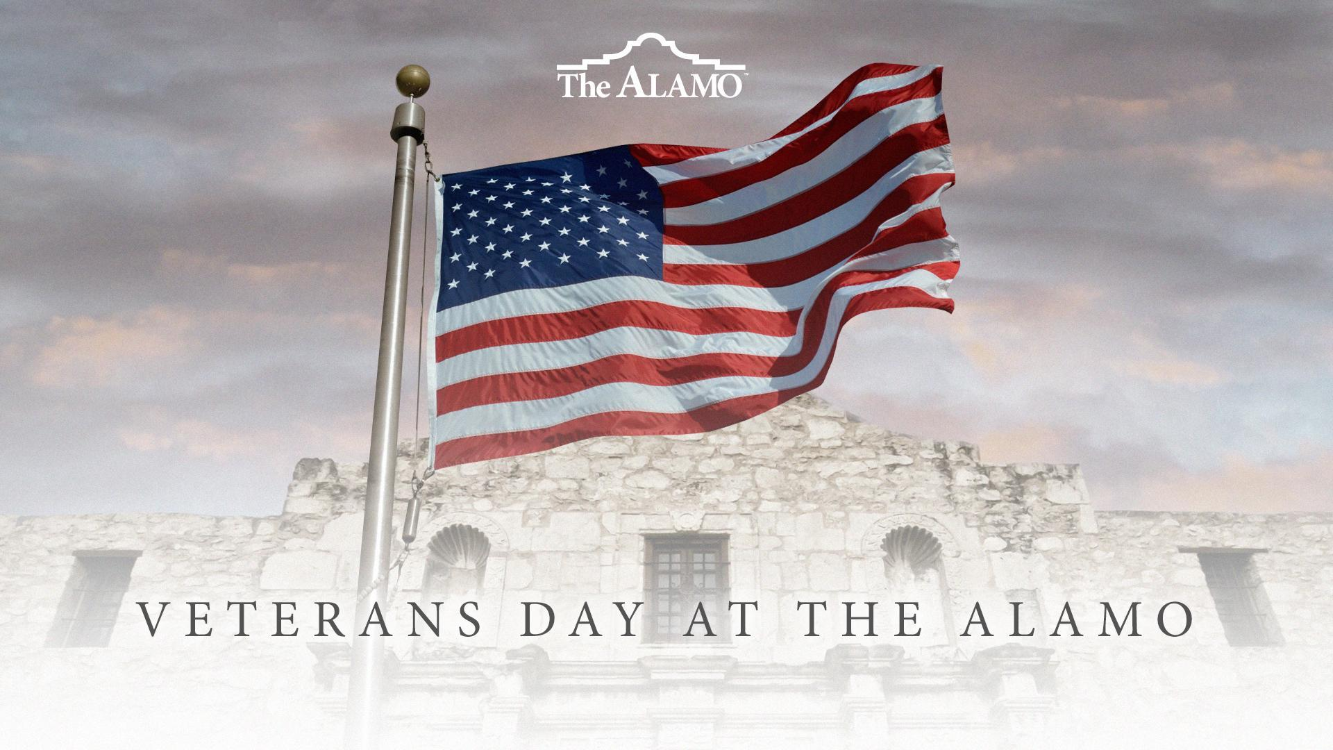 Veterans Day at the Alamo