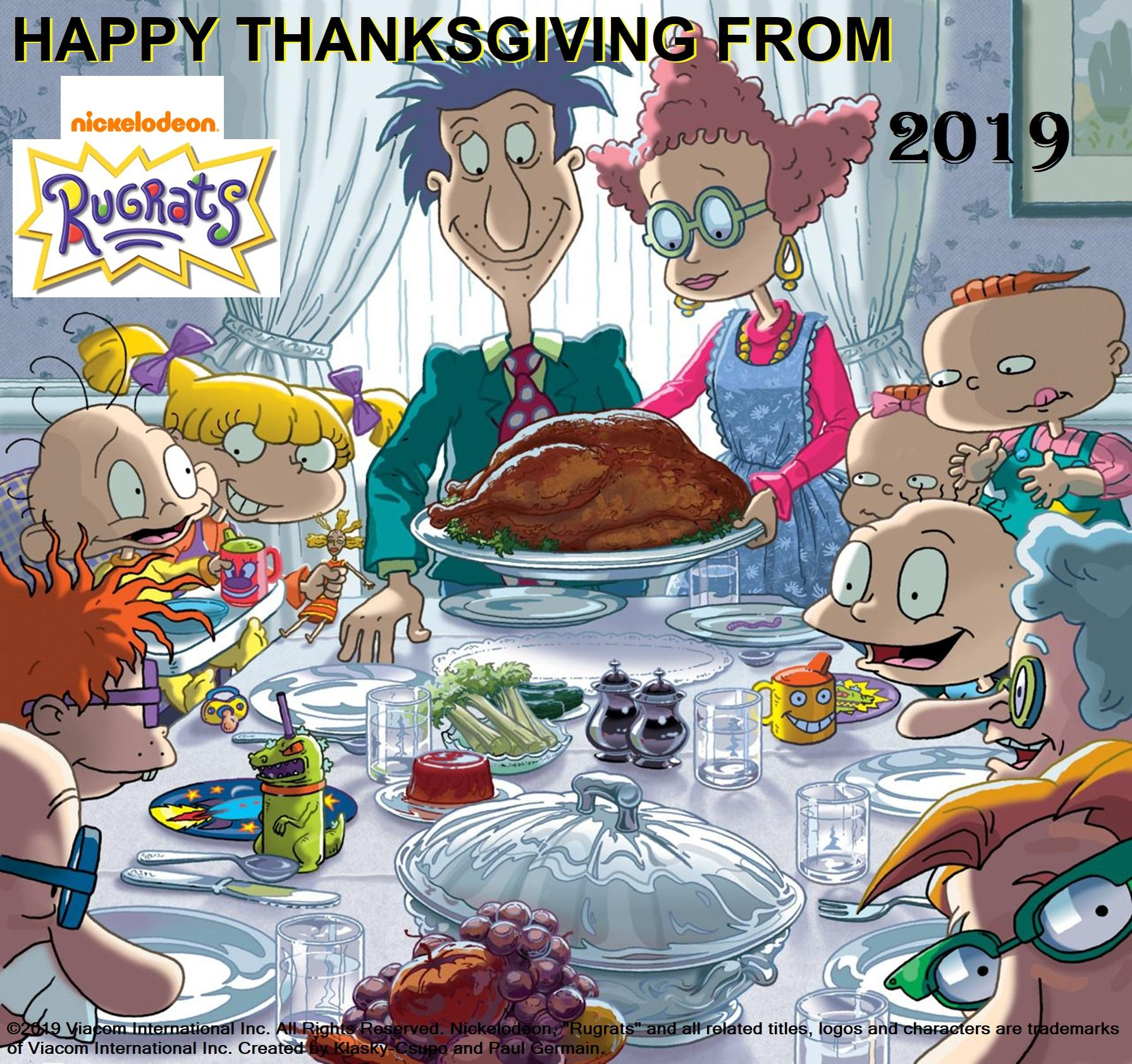 Nickelodeon's Rugrats Happy Thanksgiving 2019 Wallpapers