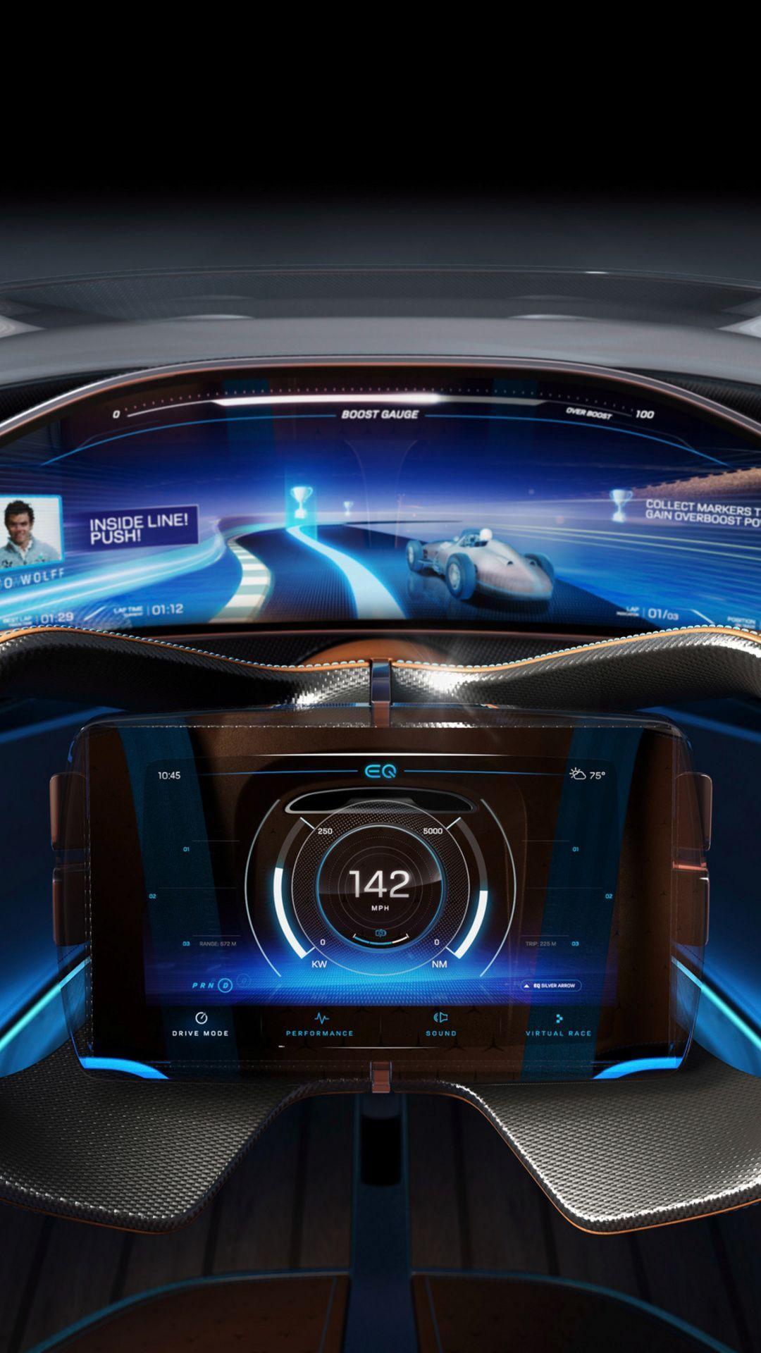 Mercedes Benz Vision EQS Car Wallpapers - Wallpaper Cave