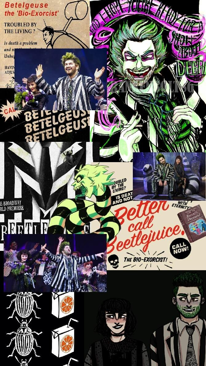 Beetlejuice The Musical Wallpapers Wallpaper Cave