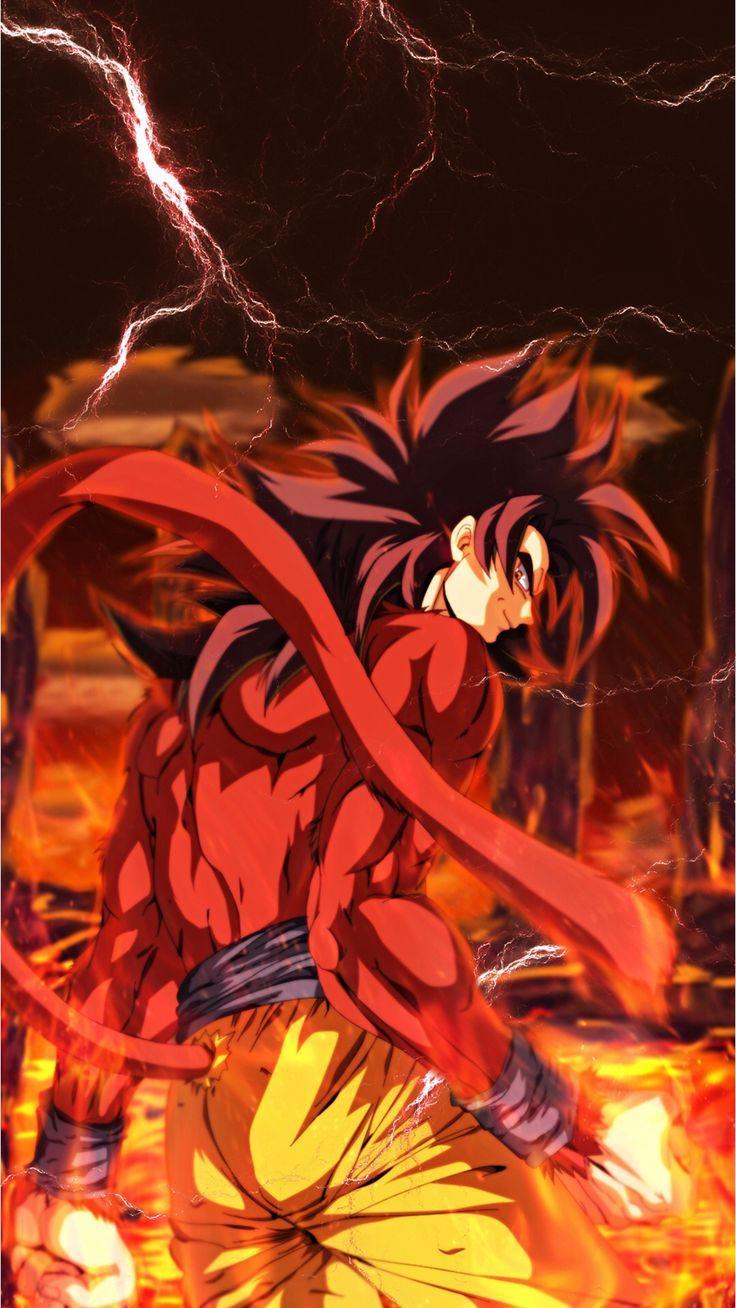 Goku Ssj3 Iphone Wallpapers Wallpaper Cave