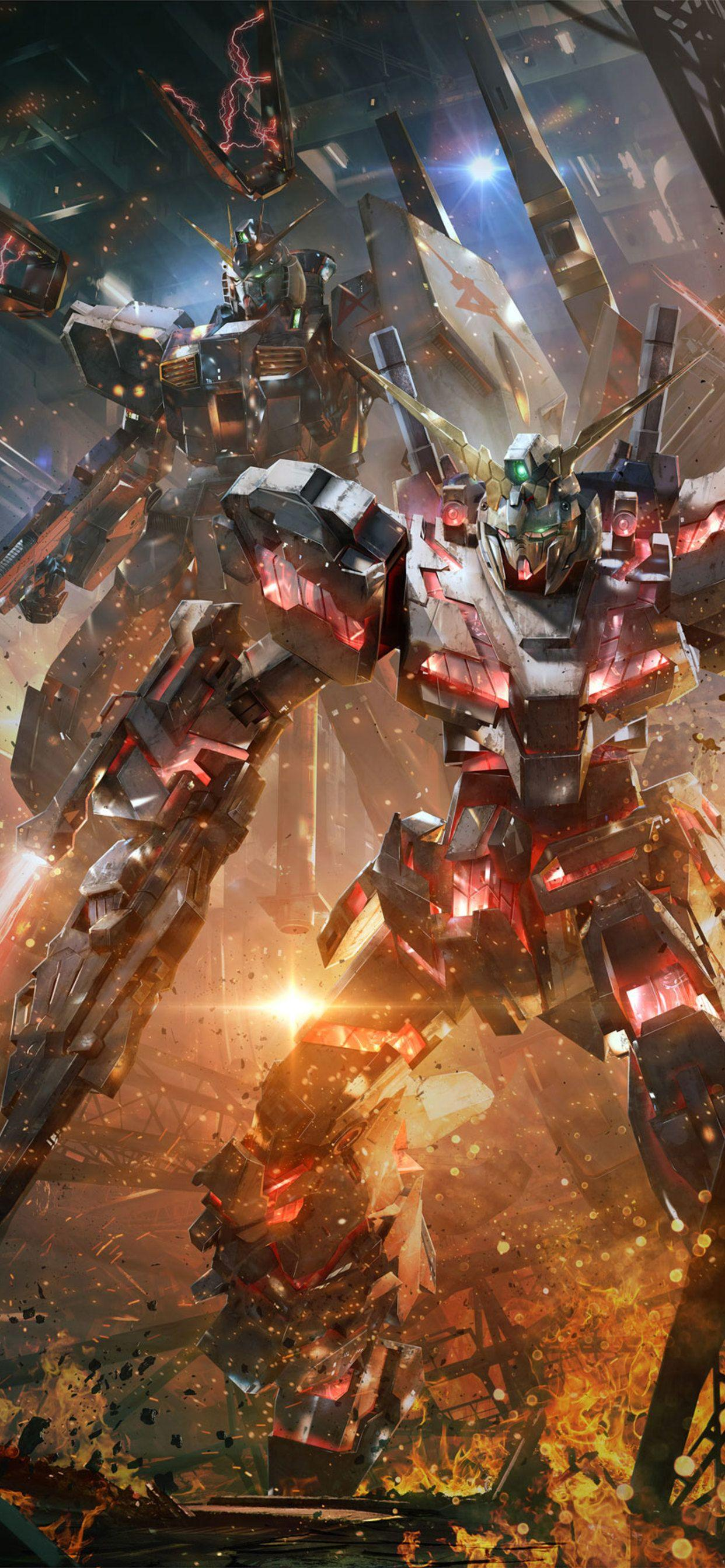 Gundam Iphone Hd Wallpapers Wallpaper Cave