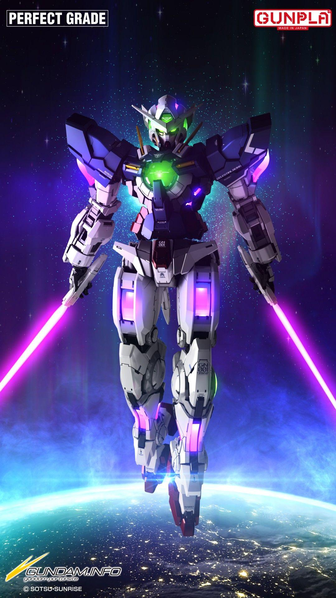 Gundam 00 Iphone Wallpapers Wallpaper Cave