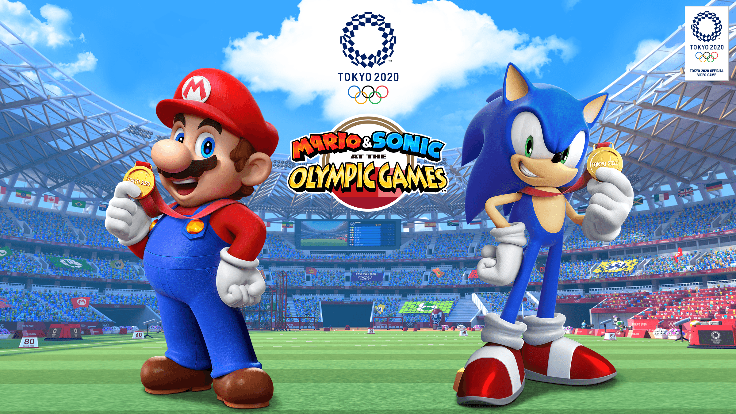 Mario & Sonic At The Olympic Games Tokyo 2020 Wallpapers - Wallpaper Cave