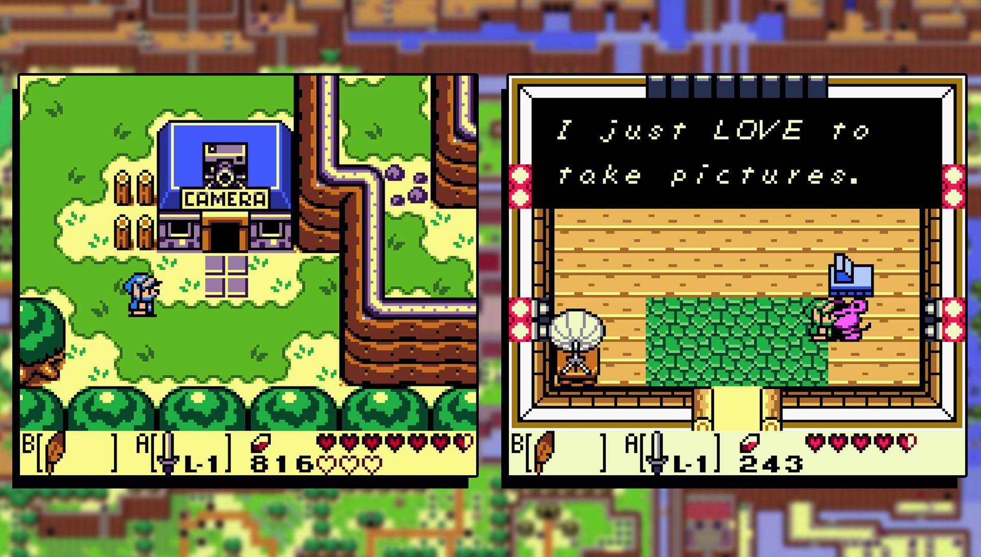 The Legend Of Zelda Link S Awakening 1993 Wallpapers