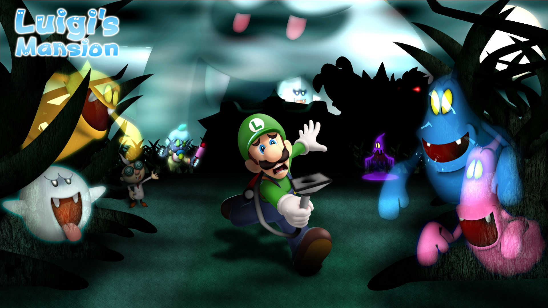 Luigi S Mansion Wallpapers Wallpaper Cave