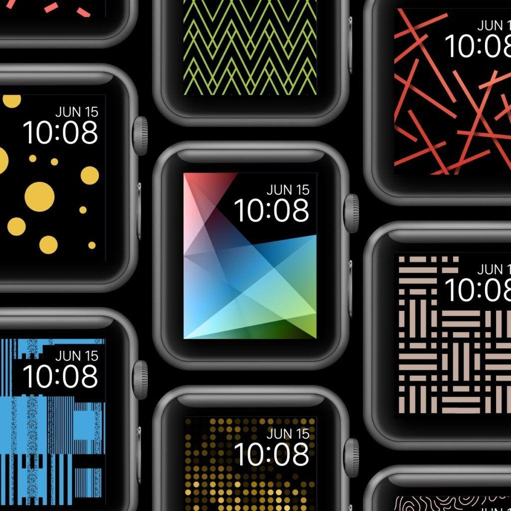 Apple Watch, Wallpaper, Facely, Design, Fashion, Color