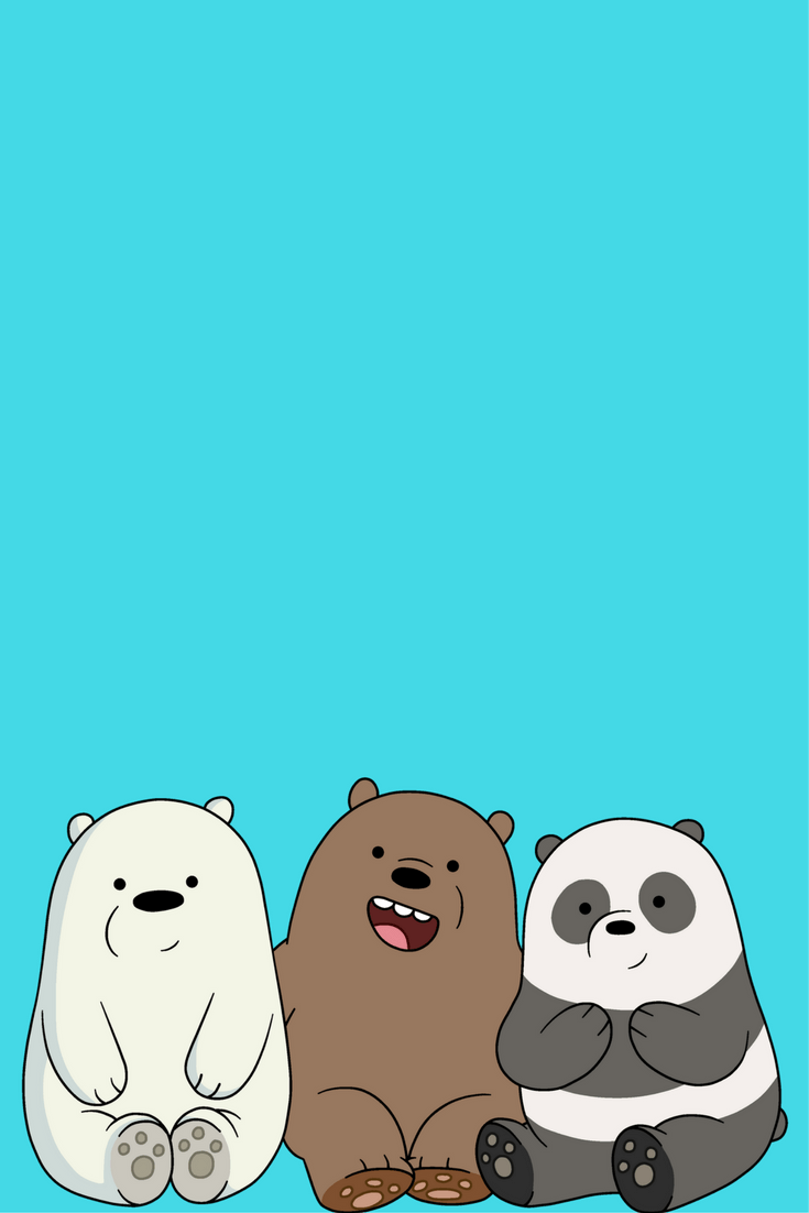 We Bare Bears Hd Phone Wallpapers Wallpaper Cave