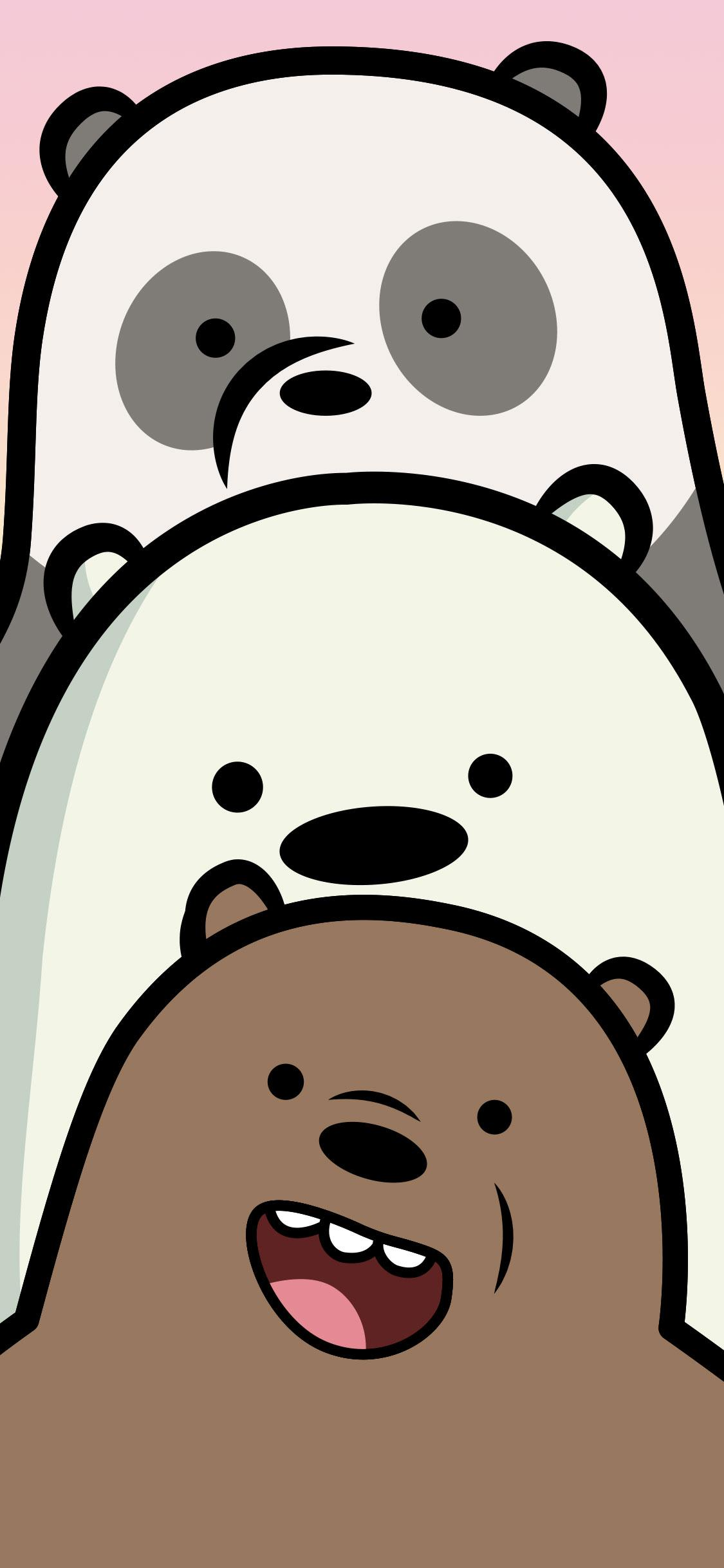 We Bare Bears HD iPhone Wallpapers - Wallpaper Cave