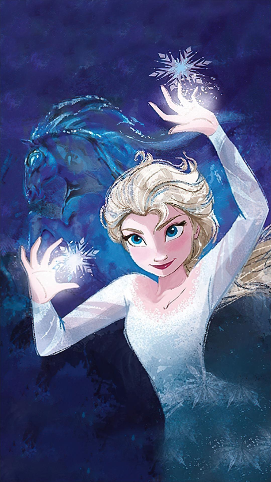 Frozen 2 Queen Elsa Wallpapers - Wallpaper Cave