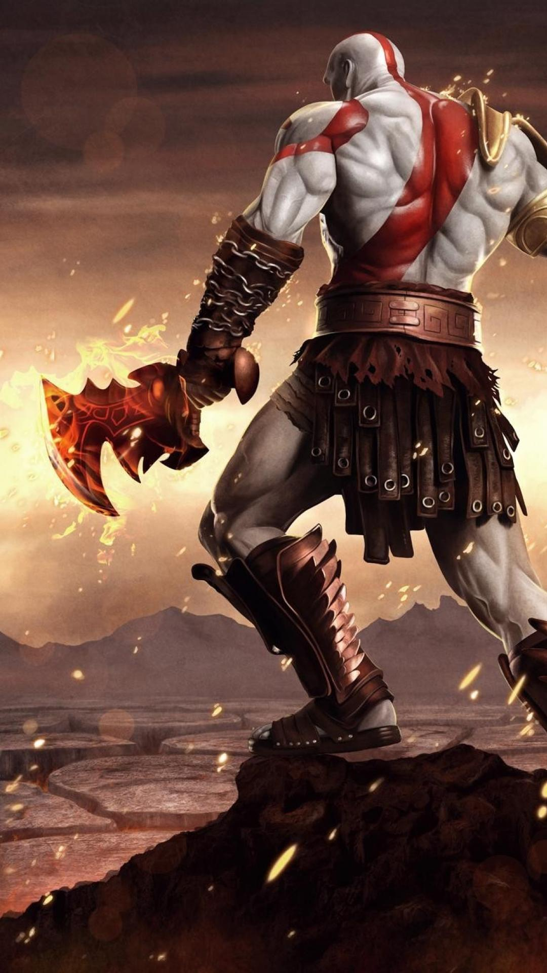 God Of War Iphone 6 Wallpapers Wallpaper Cave