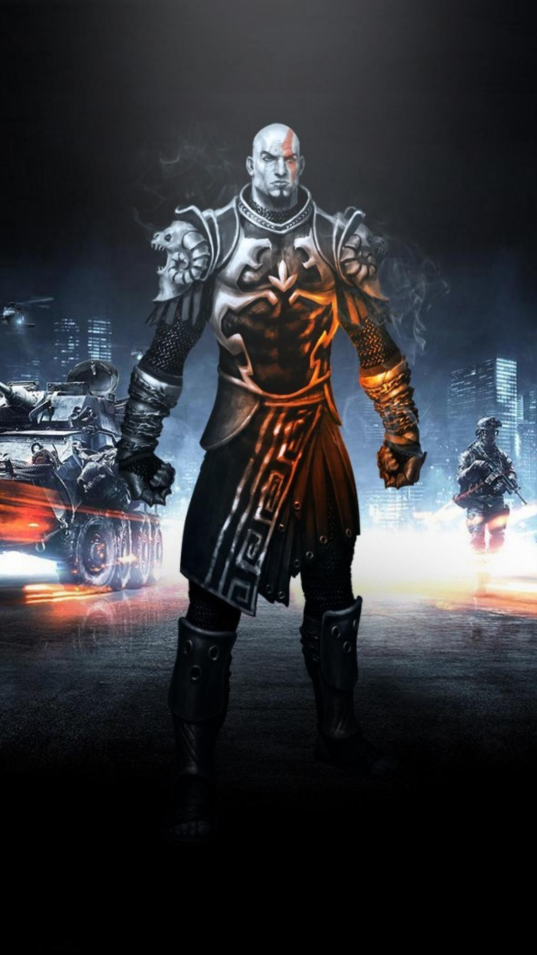 Hd God Of War Android Wallpapers Wallpaper Cave