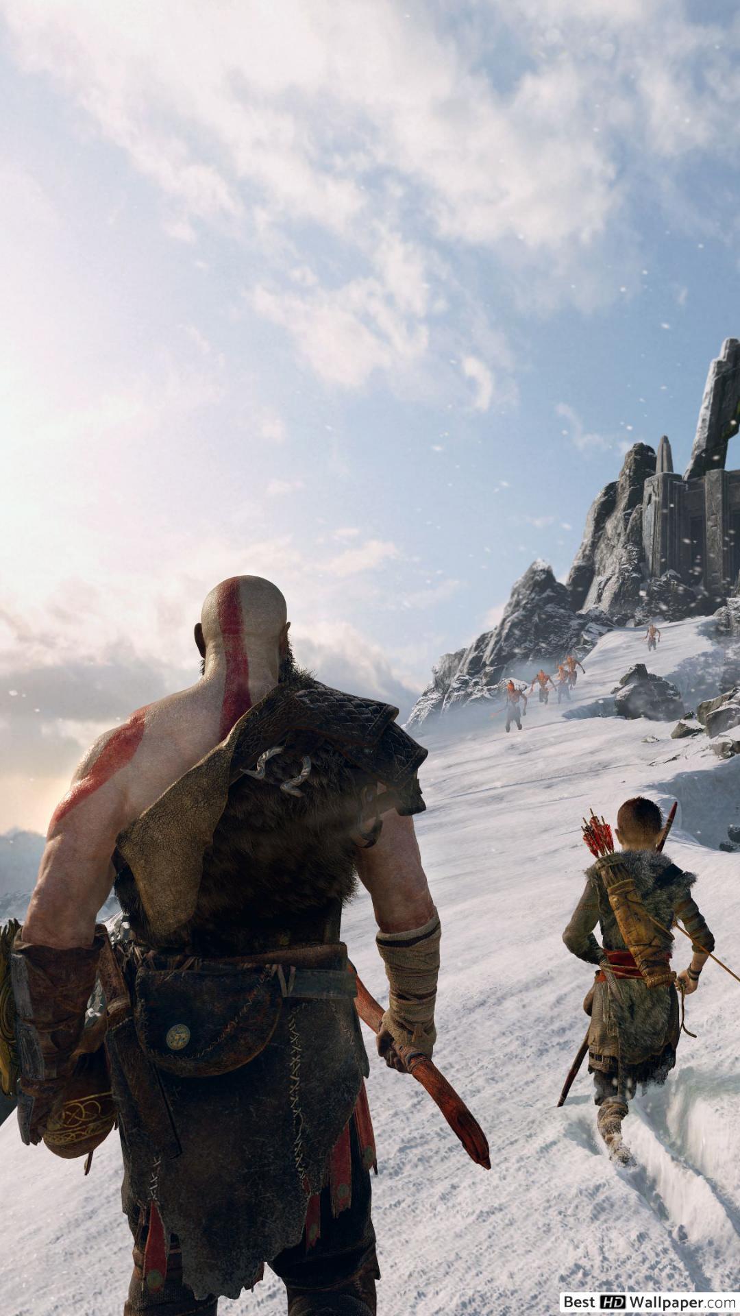 Kratos Iphone Wallpapers Wallpaper Cave