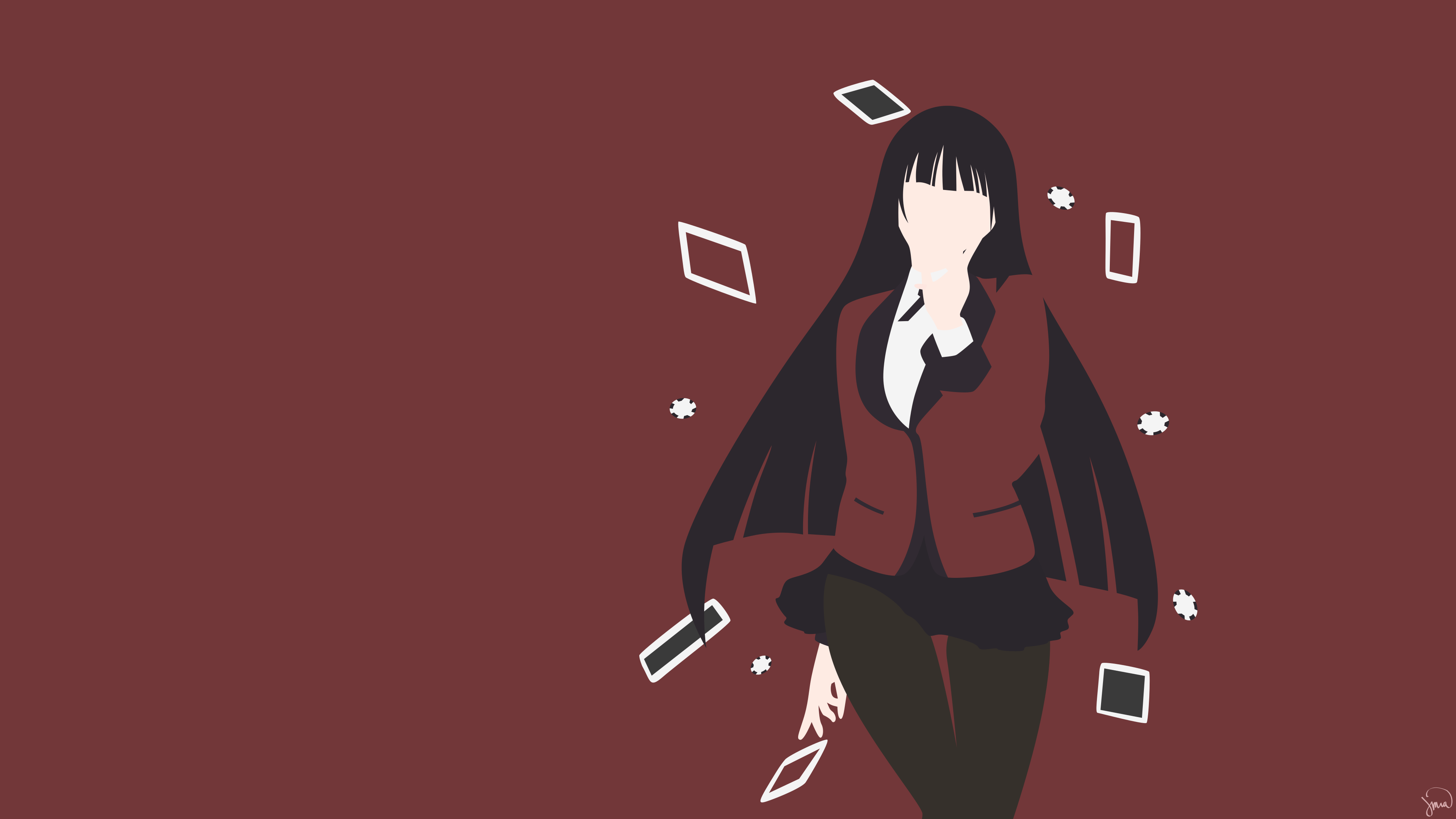 Kakegurui Teams Background 5