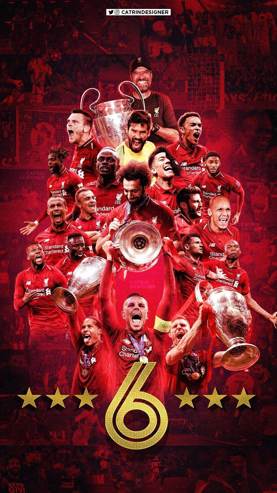 Liverpool Champions League Iphone Wallpapers Wallpaper Cave
