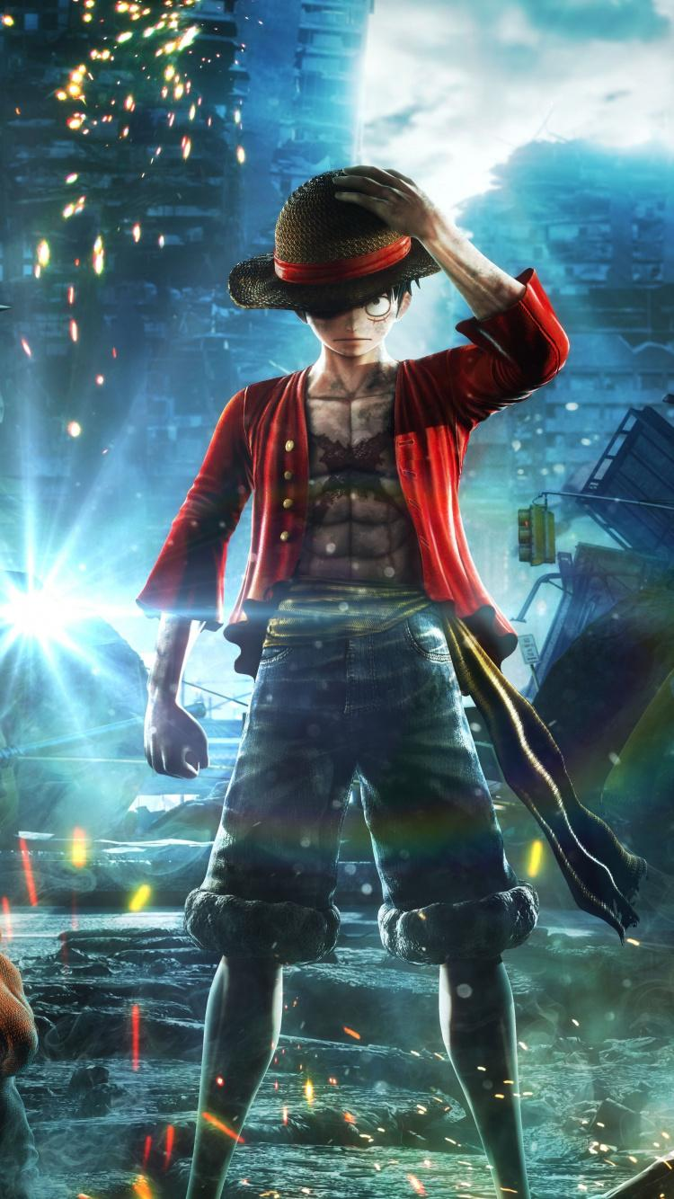 Download 750x1334 wallpapers jump force, anime video game