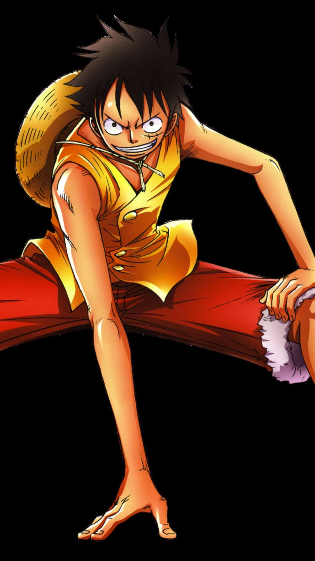 Monkey D Luffy One Piece Iphone Wallpaper.