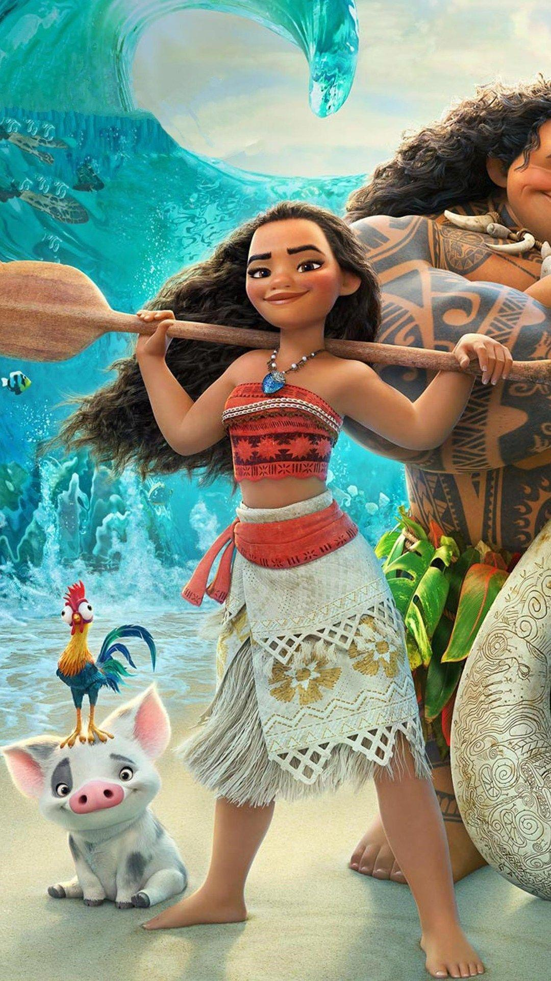 Moana Android Wallpapers - Wallpaper Cave