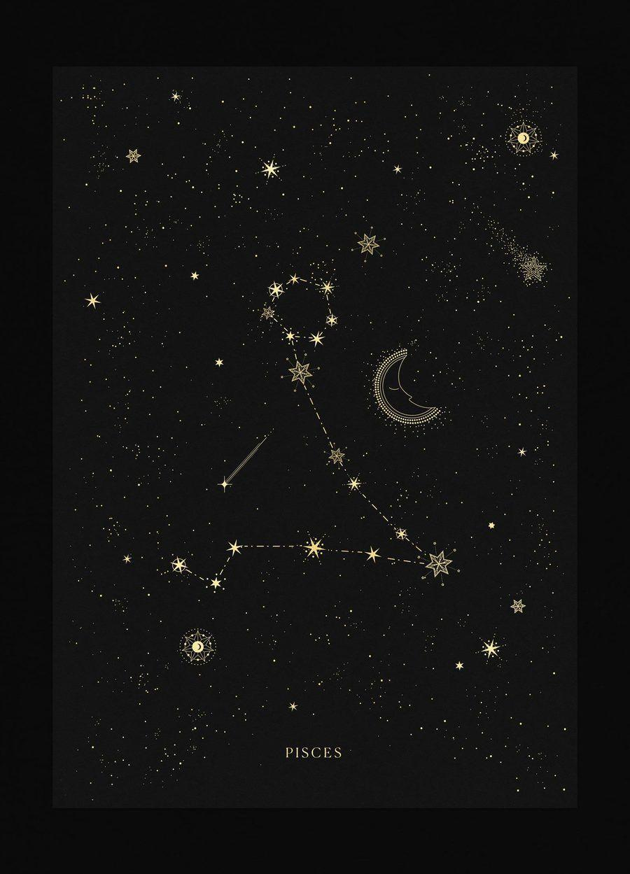 Pisces Constellation Wallpapers Wallpaper Cave