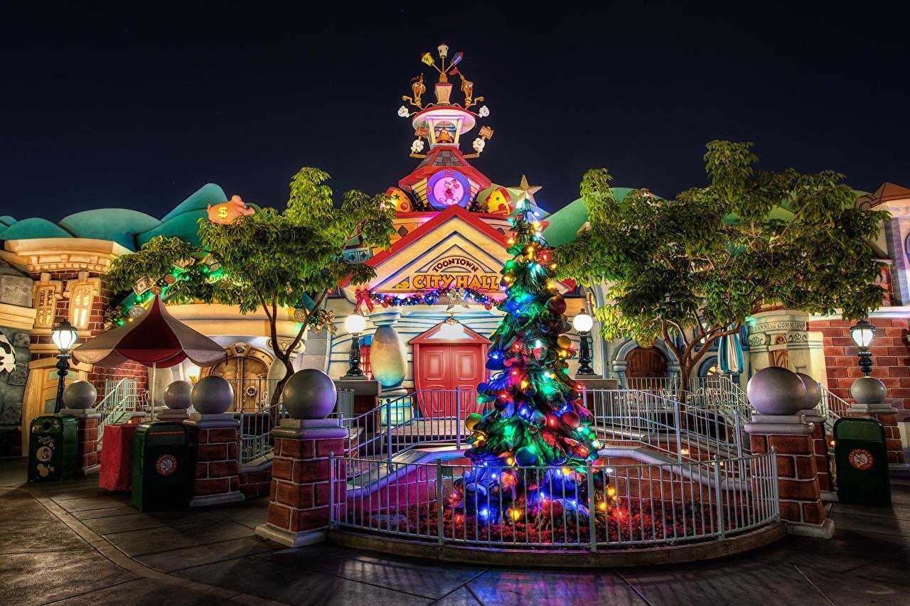 Disneyland Christmas Wallpapers - Wallpaper Cave