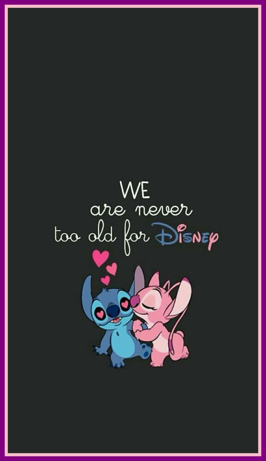 Stich And Angel Wallpapers Wallpaper Cave