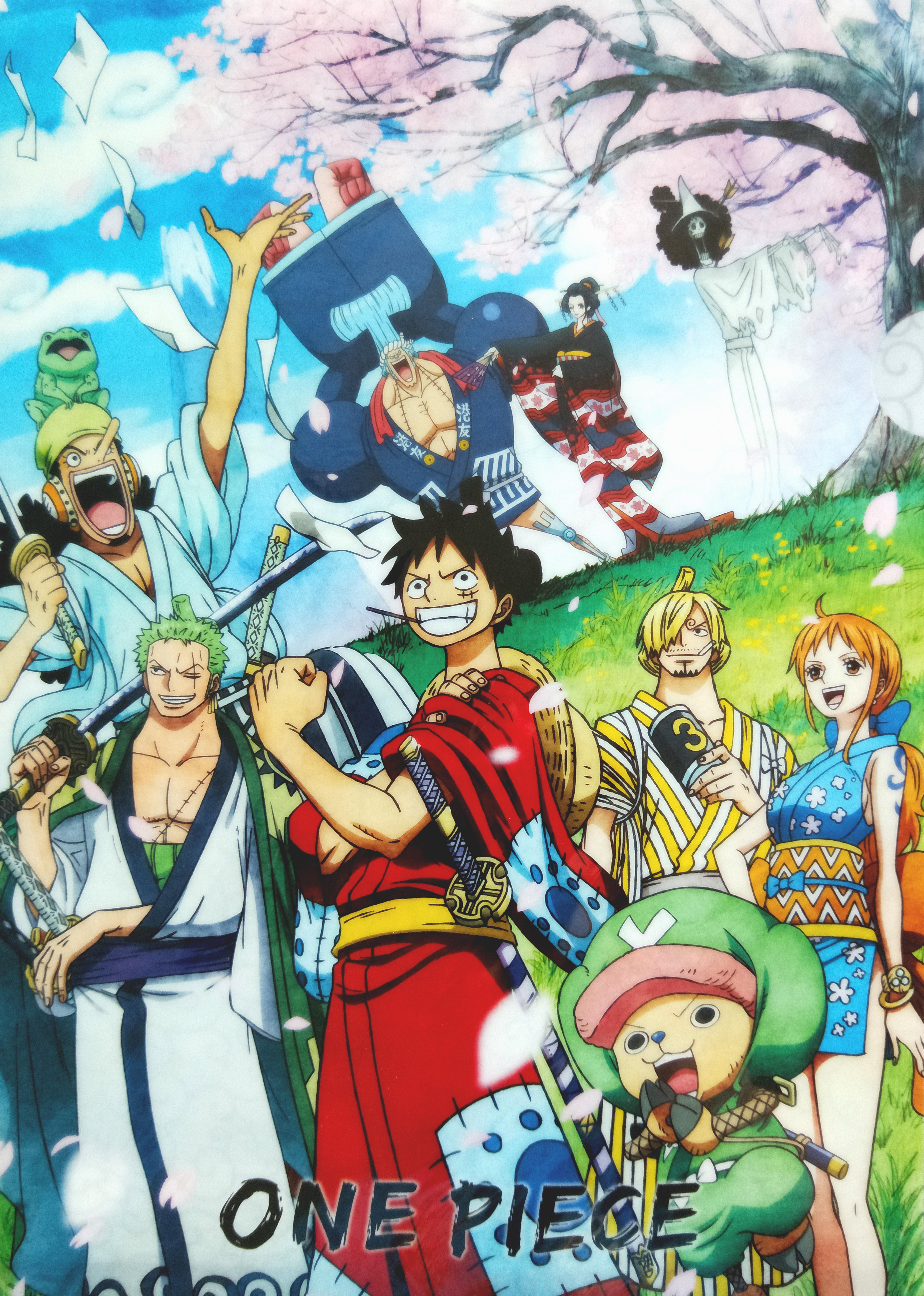 One Piece Wano Kuni Wallpapers Wallpaper Cave