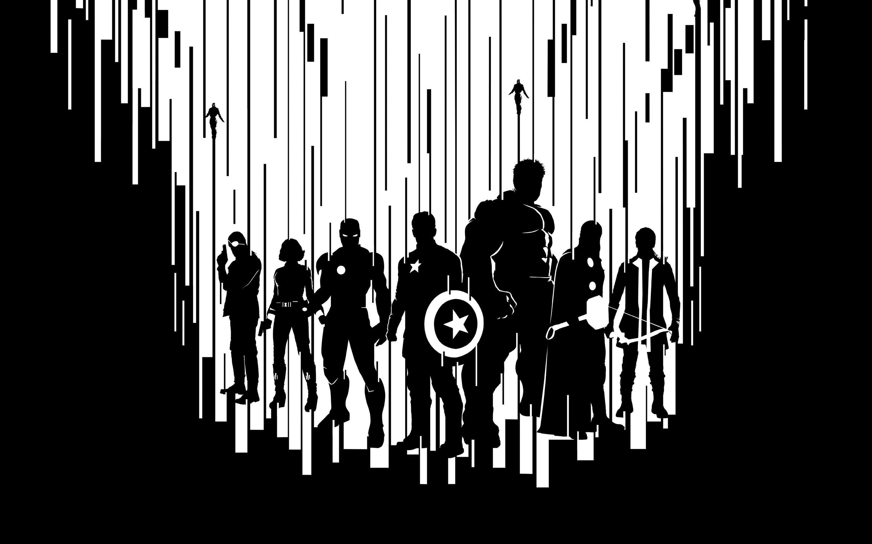 Avengers Dark Wallpapers Wallpaper Cave