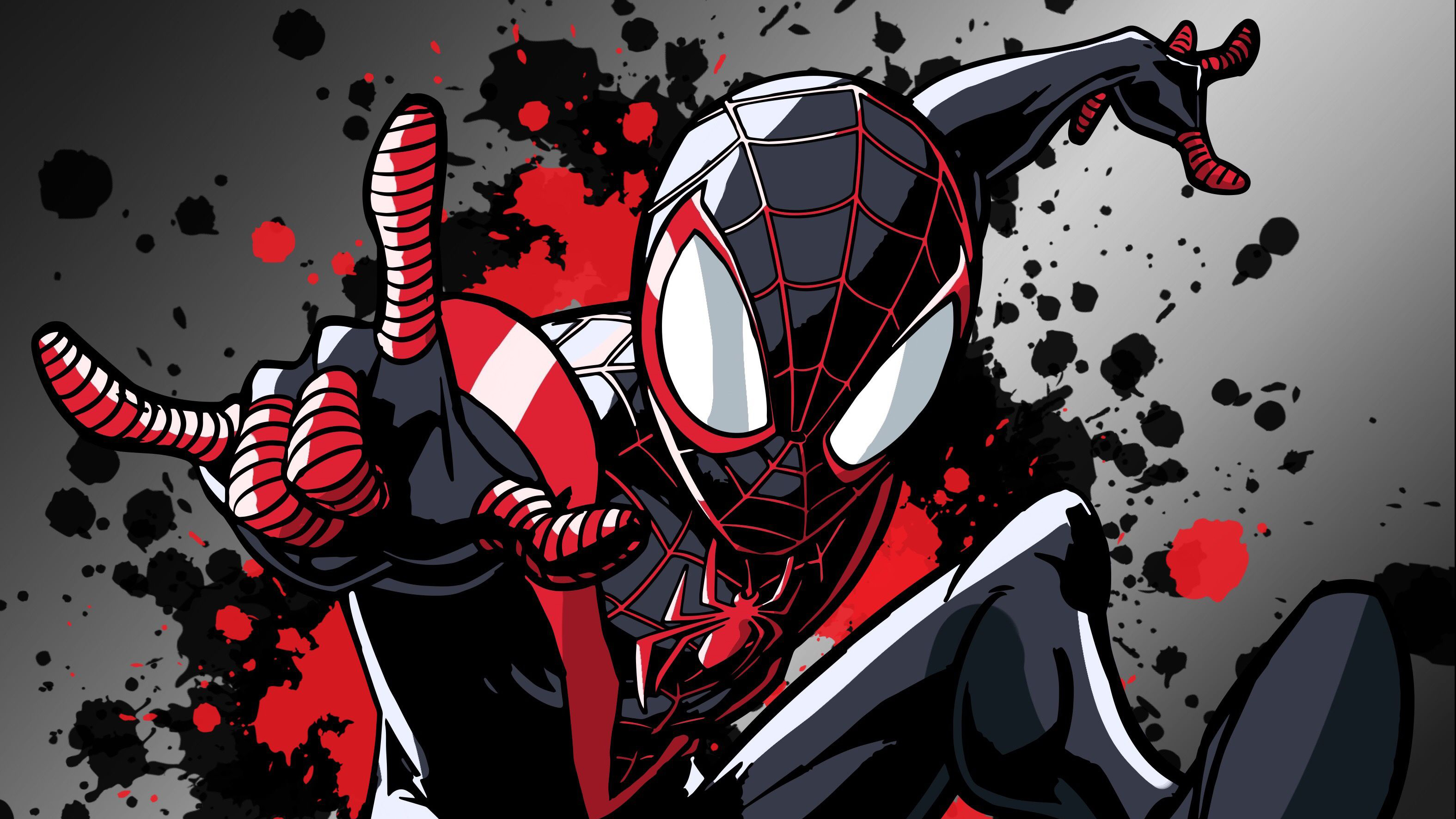 Miles Morales Spider Man Wallpapers Wallpaper Cave