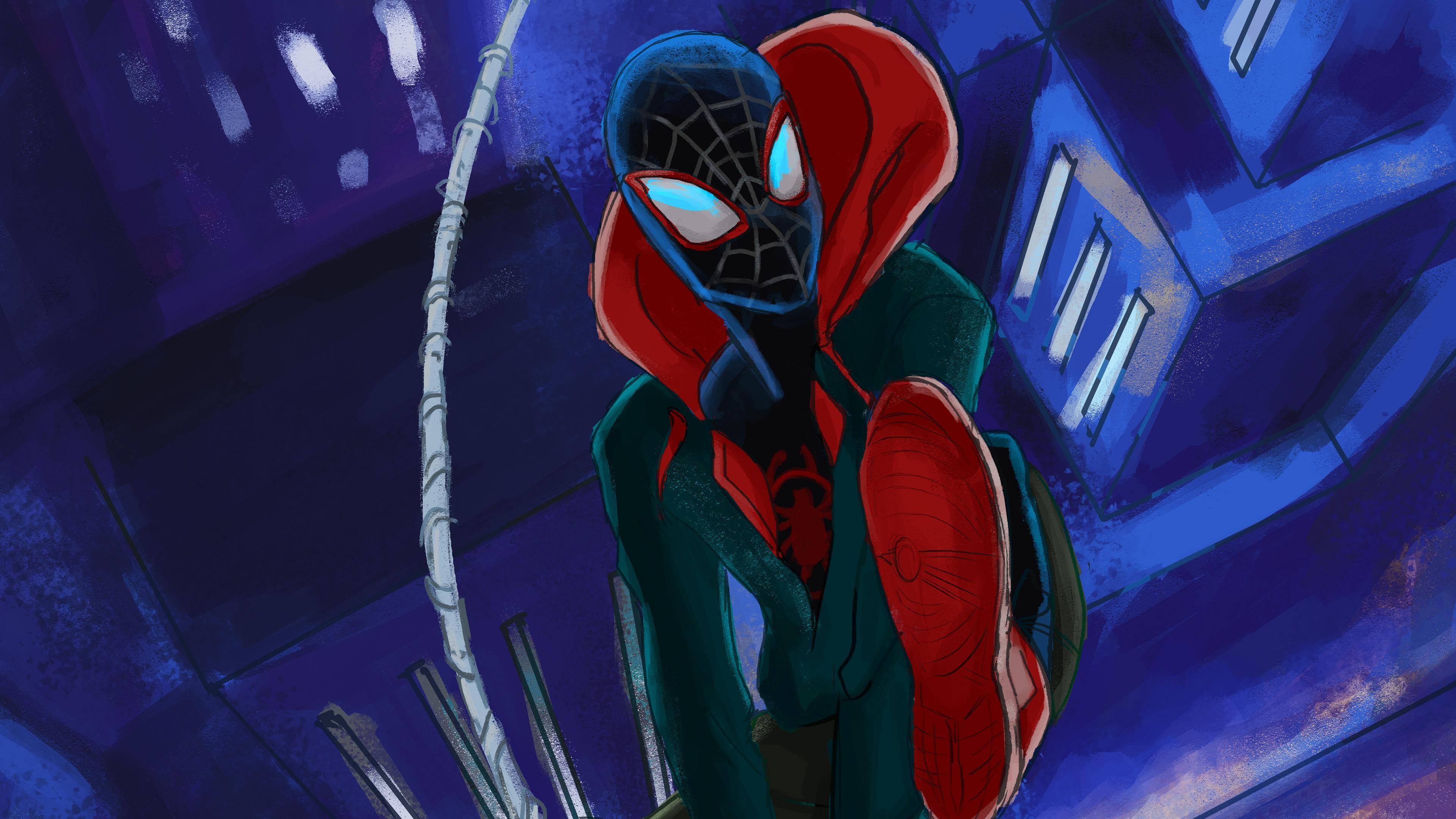 Miles Morales Spider Man Wallpapers Wallpaper Cave