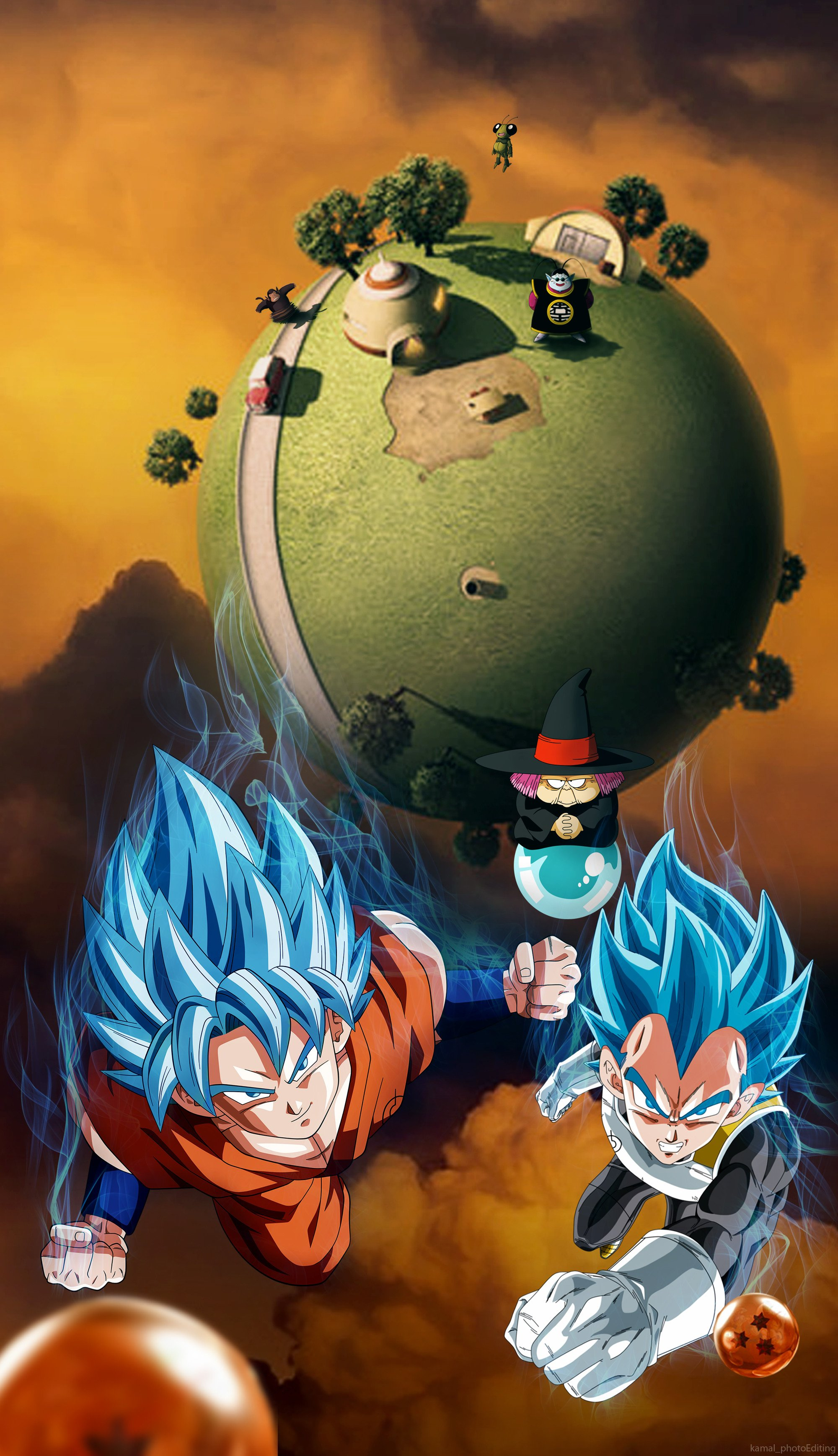 Dragon Ball 4k Iphone Wallpapers Wallpaper Cave