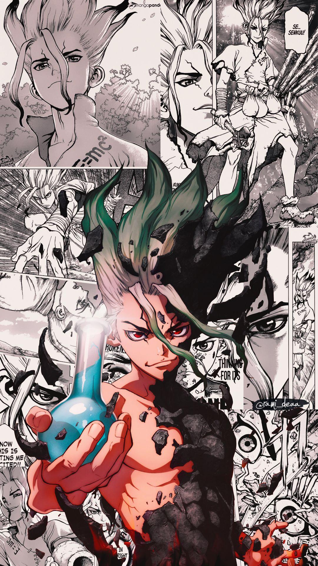 Dr Stone iPhone Wallpapers - Wallpaper Cave