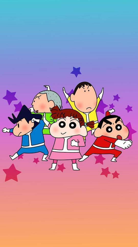 Shin Chan Family Mobile Wallpapers - Wallpaper Cave