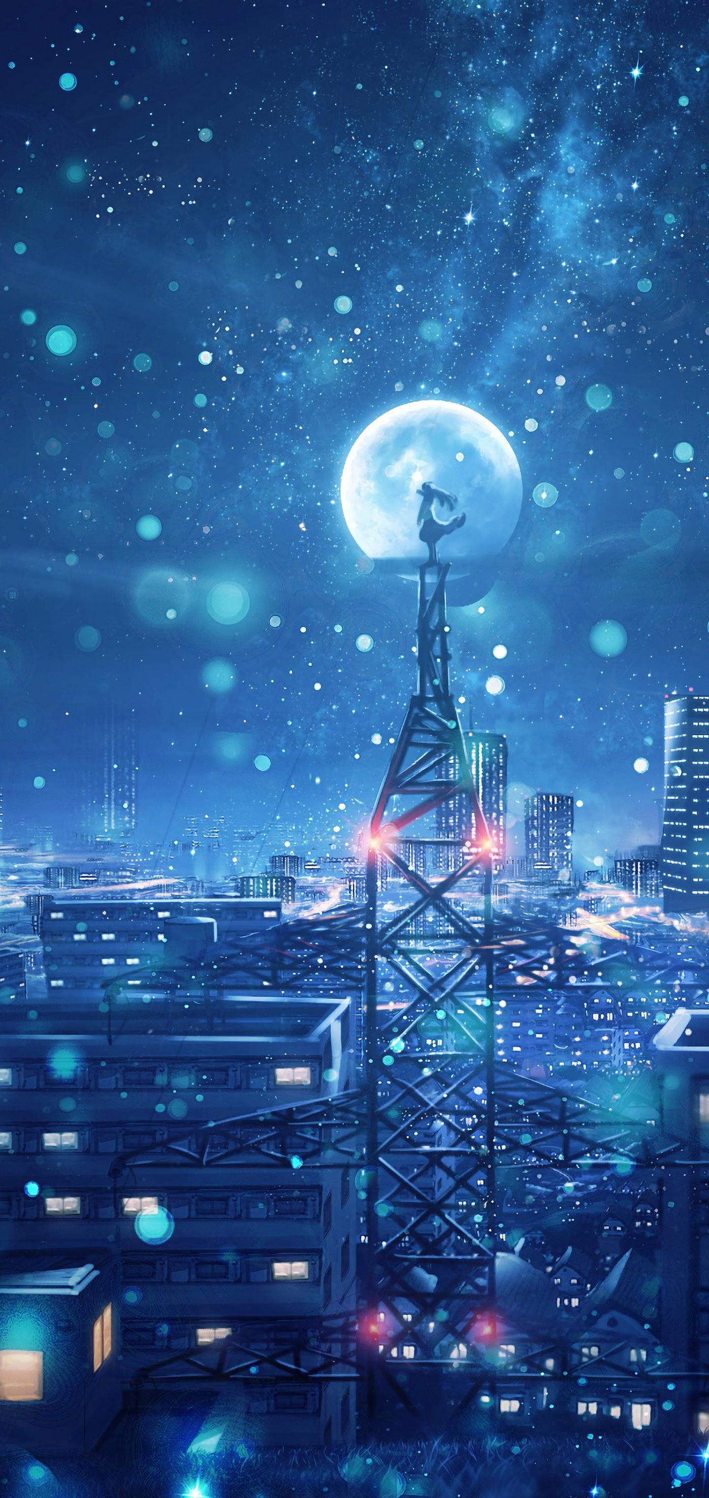 City Anime Android Wallpapers - Wallpaper Cave