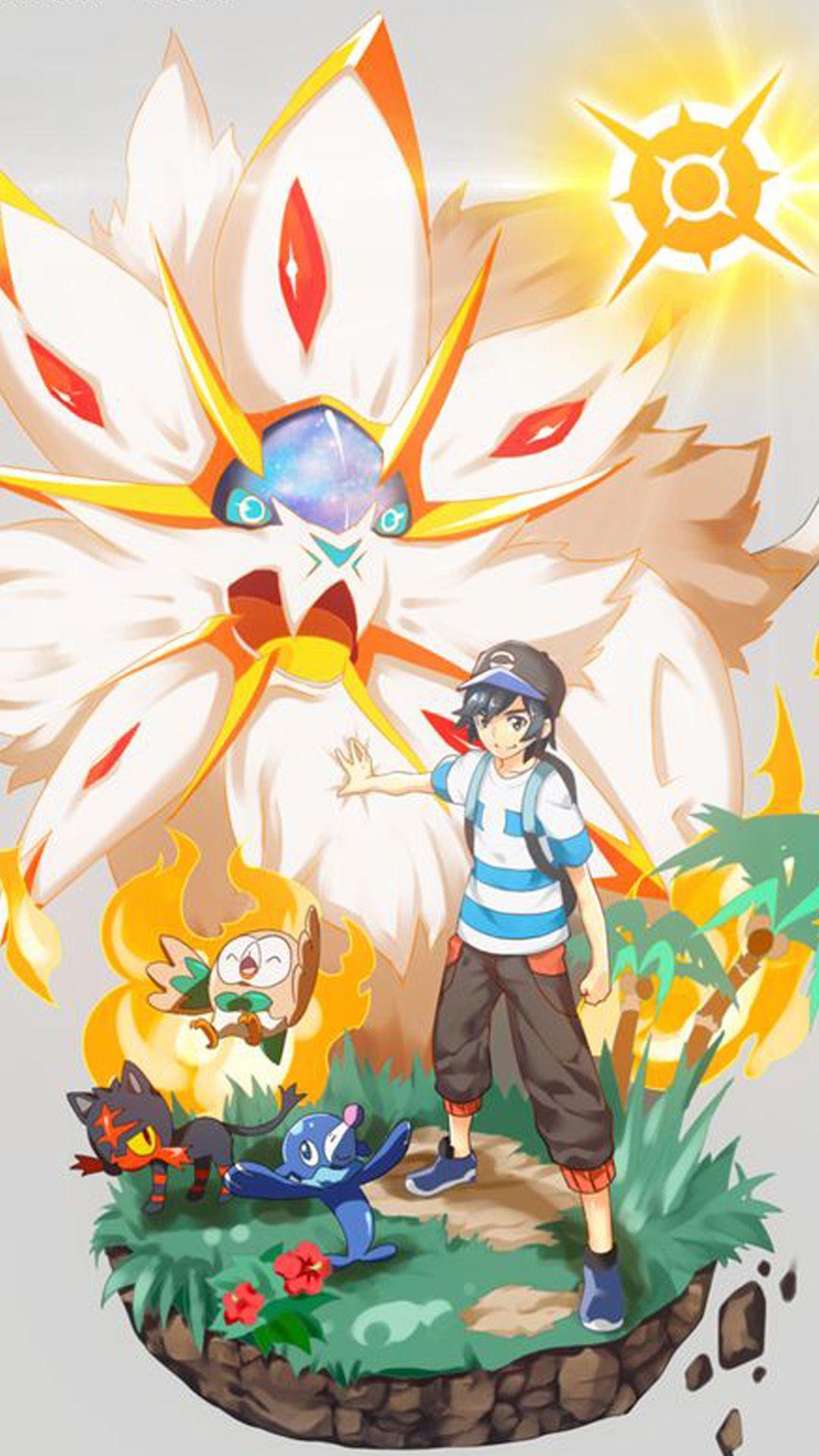 Anime Pokemon Phone Wallpapers Wallpaper Cave