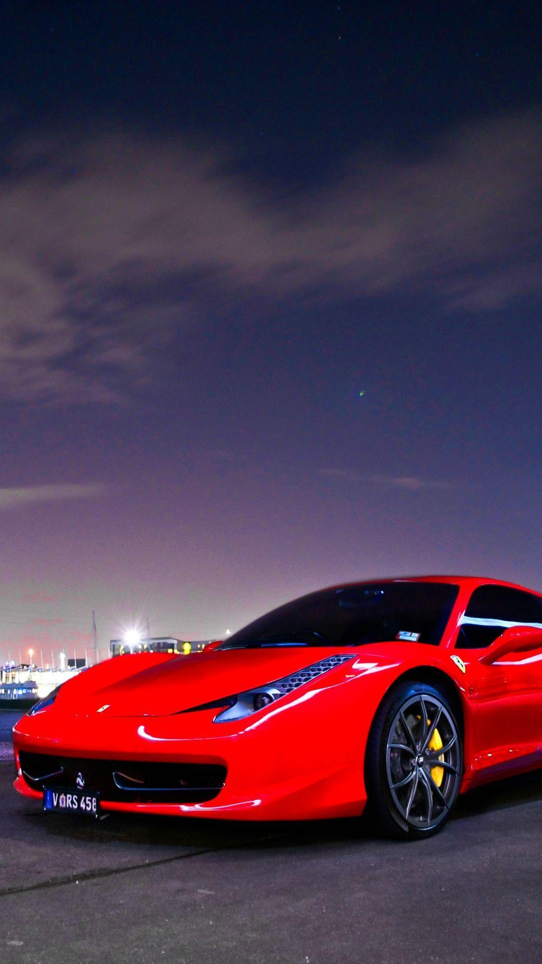 Red Ferrari Sports Car Wallpapers - Wallpaper Cave