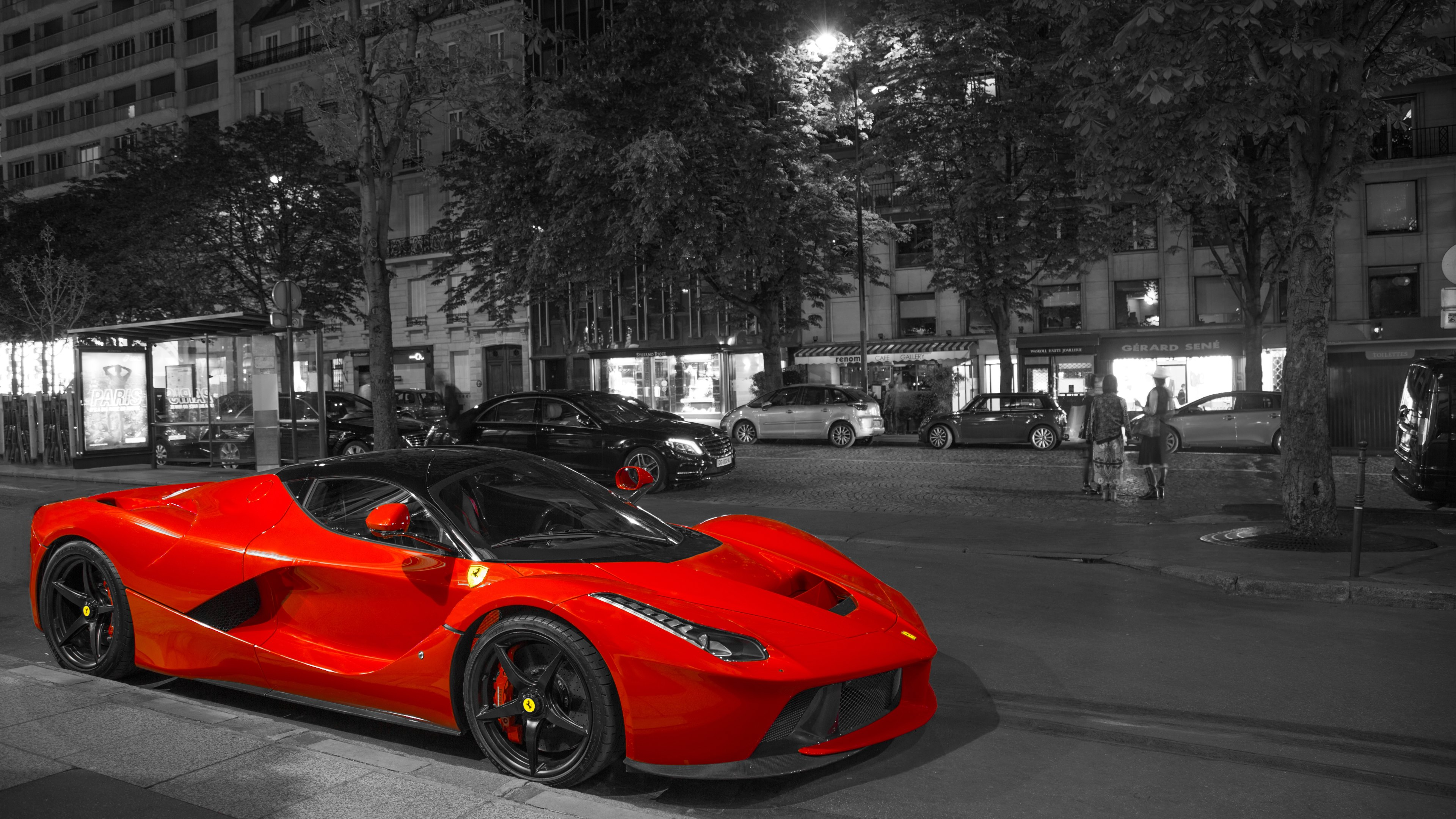 Red Ferrari Car Wallpapers Wallpaper Cave