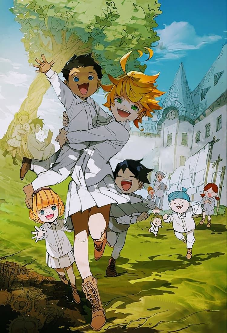 Android Hd Yakusoku No Neverland Wallpapers Wallpaper Cave