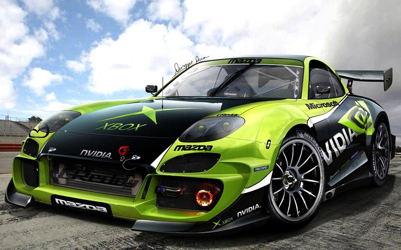 Green Sports Car Wallpapers Wallpaper Cave