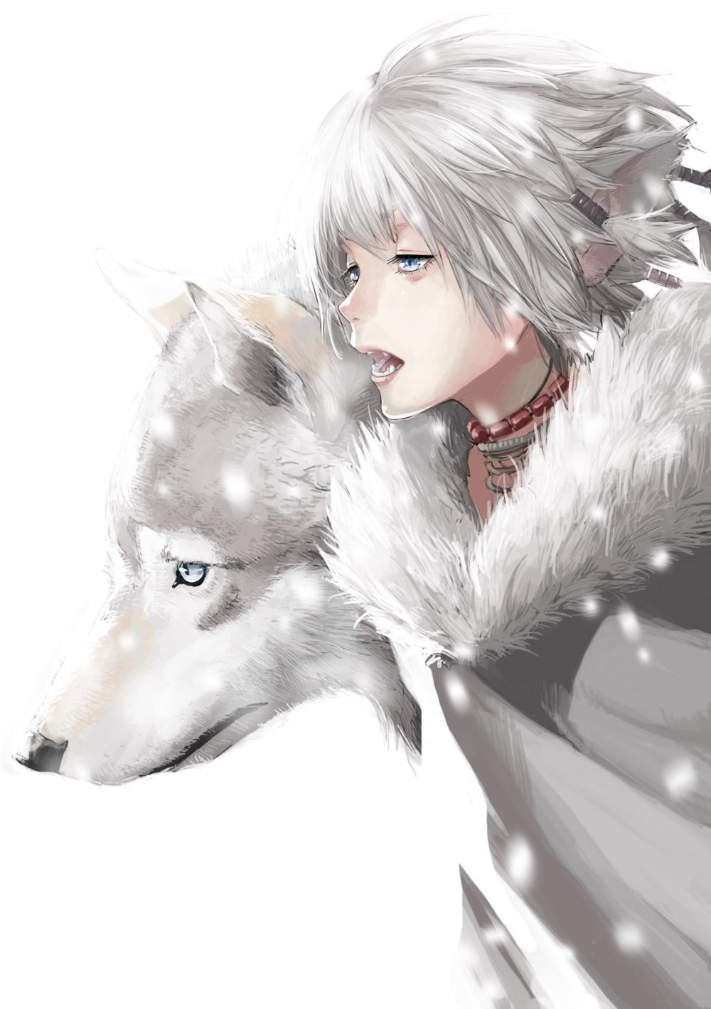 Anime Wolf Boy Wallpapers Wallpaper Cave