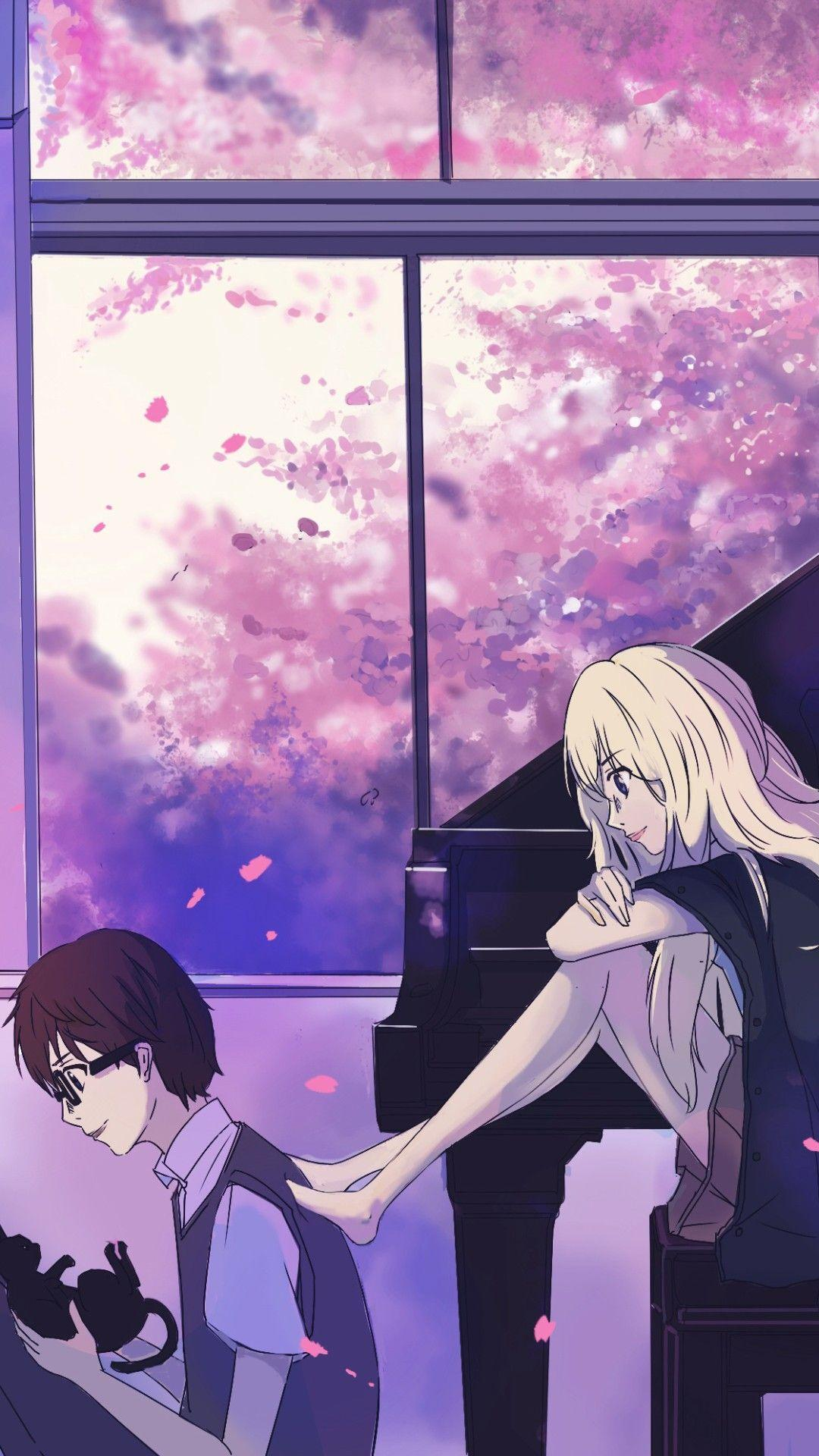 Wallpaper Iphone Wallpaper Your Lie In April