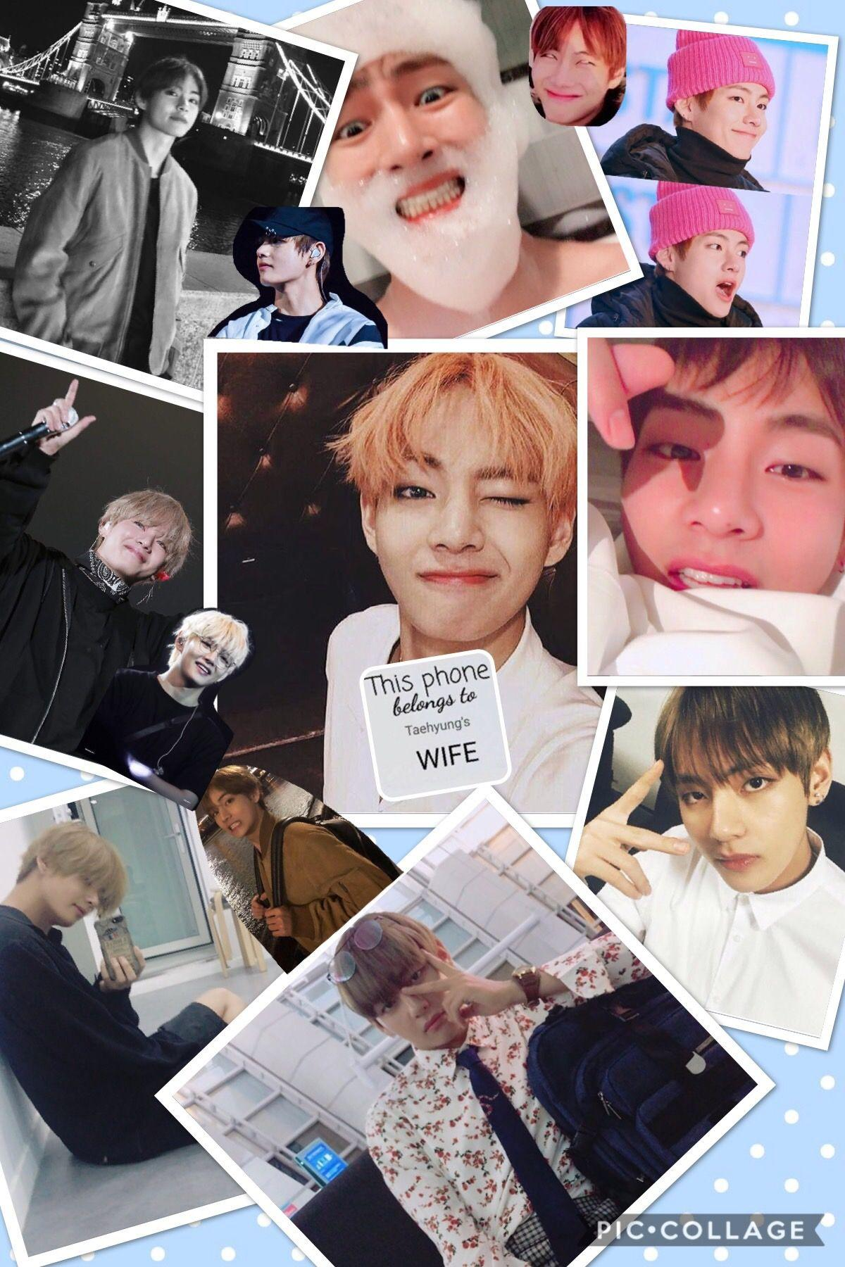 Taehyung Cute Aesthetic Wallpapers Wallpaper Cave