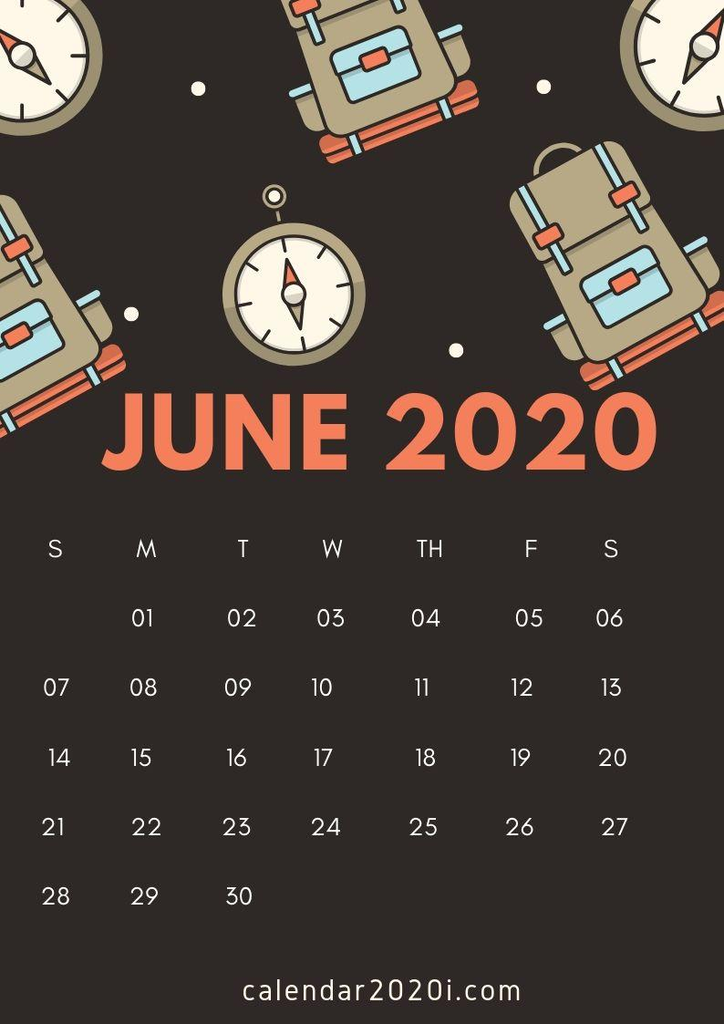 June 2020 Calendar Wallpapers - Wallpaper Cave