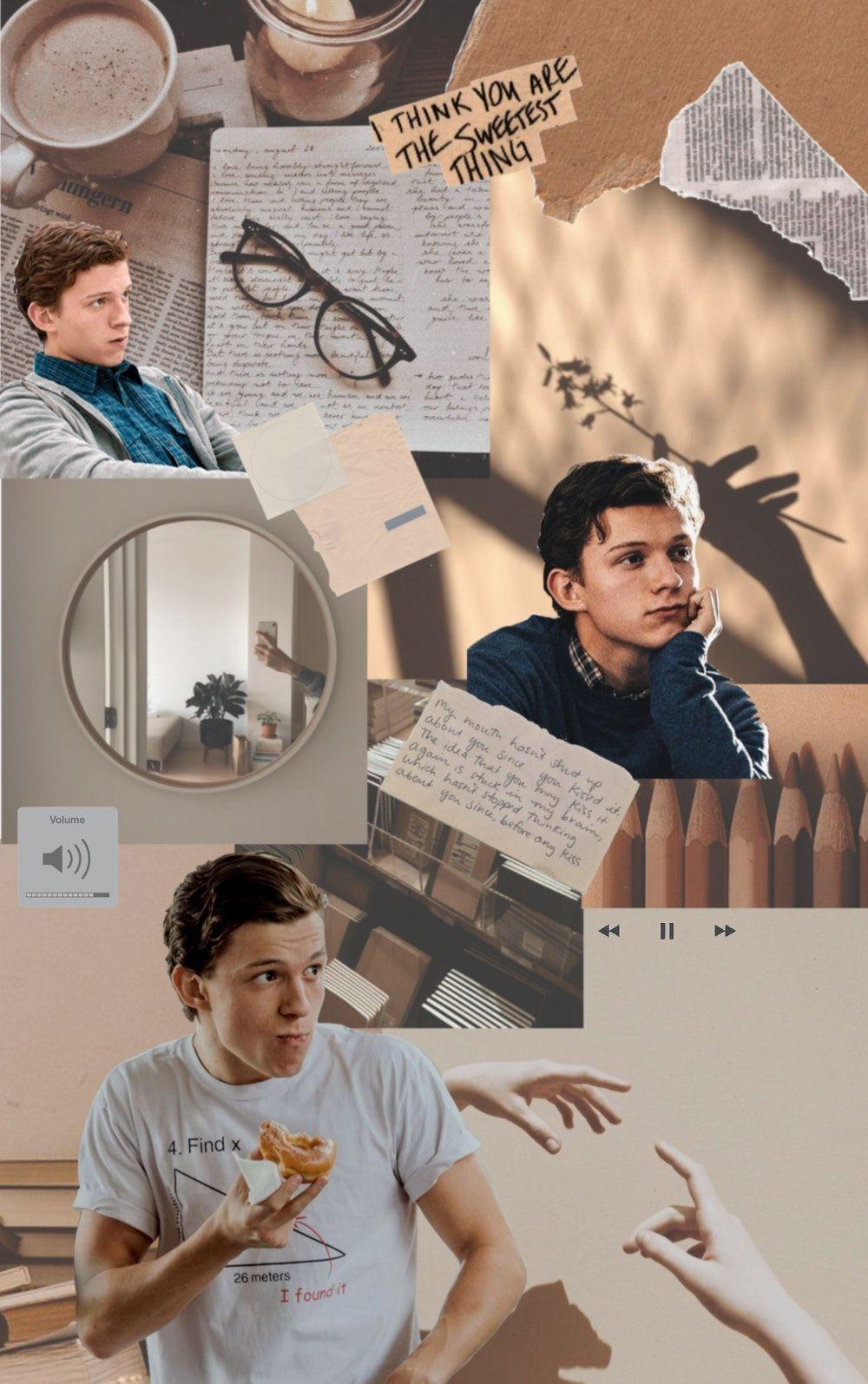 tom Holland aesthetic layout//mood board ~