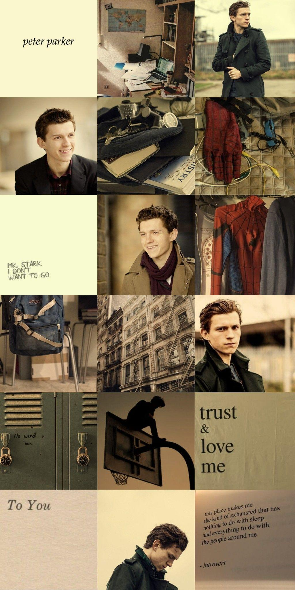 Wallpapers Tom Holland/Peter Parker/Spiderman