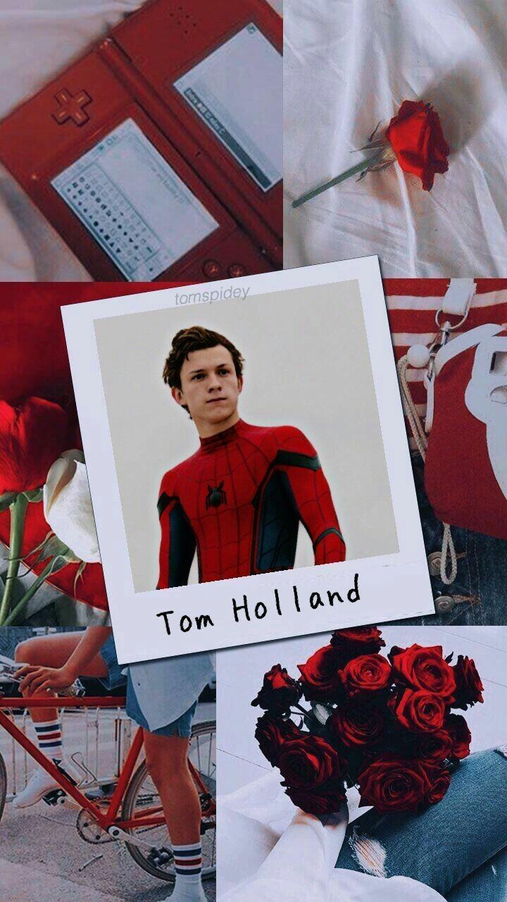 Tom holland shared by Scarlett Mitchell