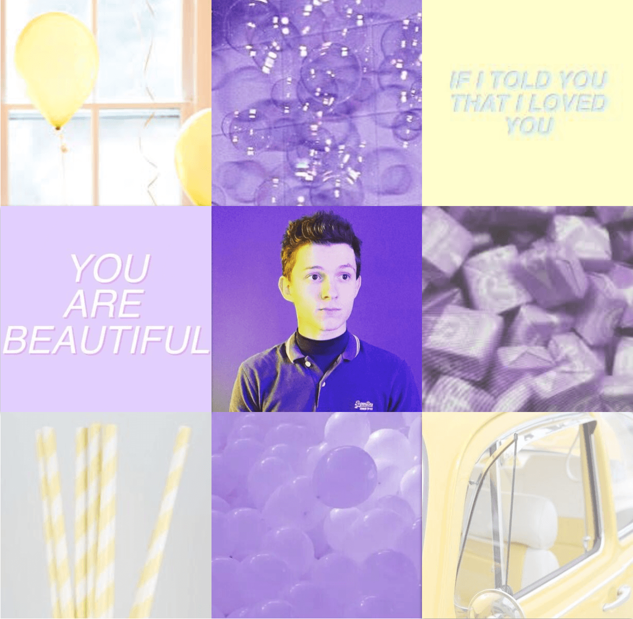 Tom Holland Aesthetic