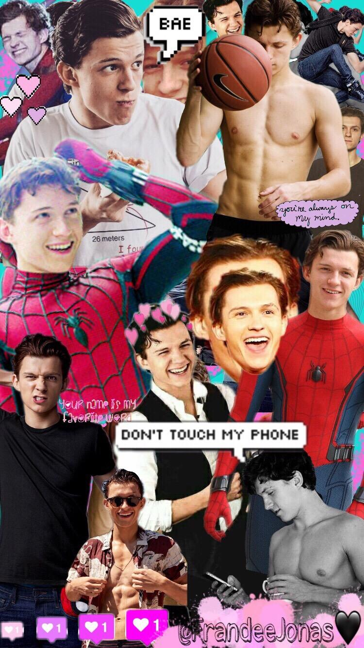 TomHolland Love Mine spidermanhomecoming Wallpapers Lock